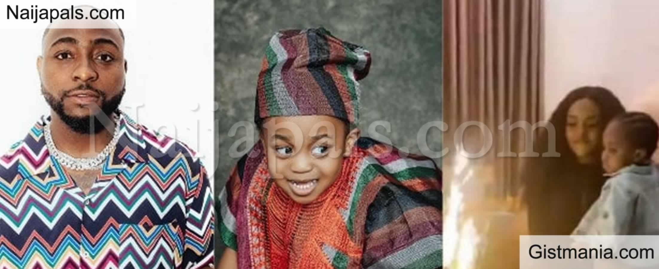 <img alt='.' class='lazyload' data-src='https://img.gistmania.com/emot/comment.gif' /> Nigerian Artist, <b>Davido Snubs Son's Birthday Party, Avoids Chioma</b>