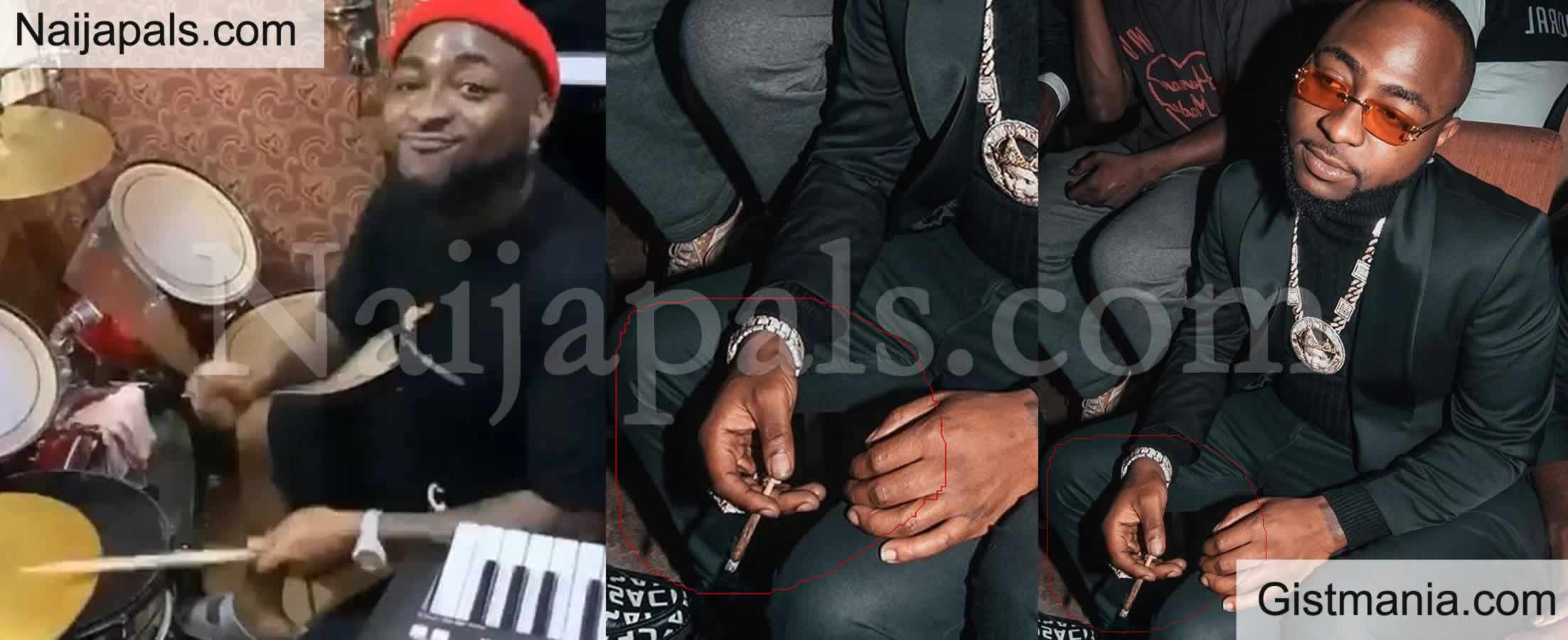 <img alt='.' class='lazyload' data-src='https://img.gistmania.com/emot/video.gif' /> <b>Davido Called Out For Smoking Weed Shortly After Drumming During Praise & Worship</b> (VID)