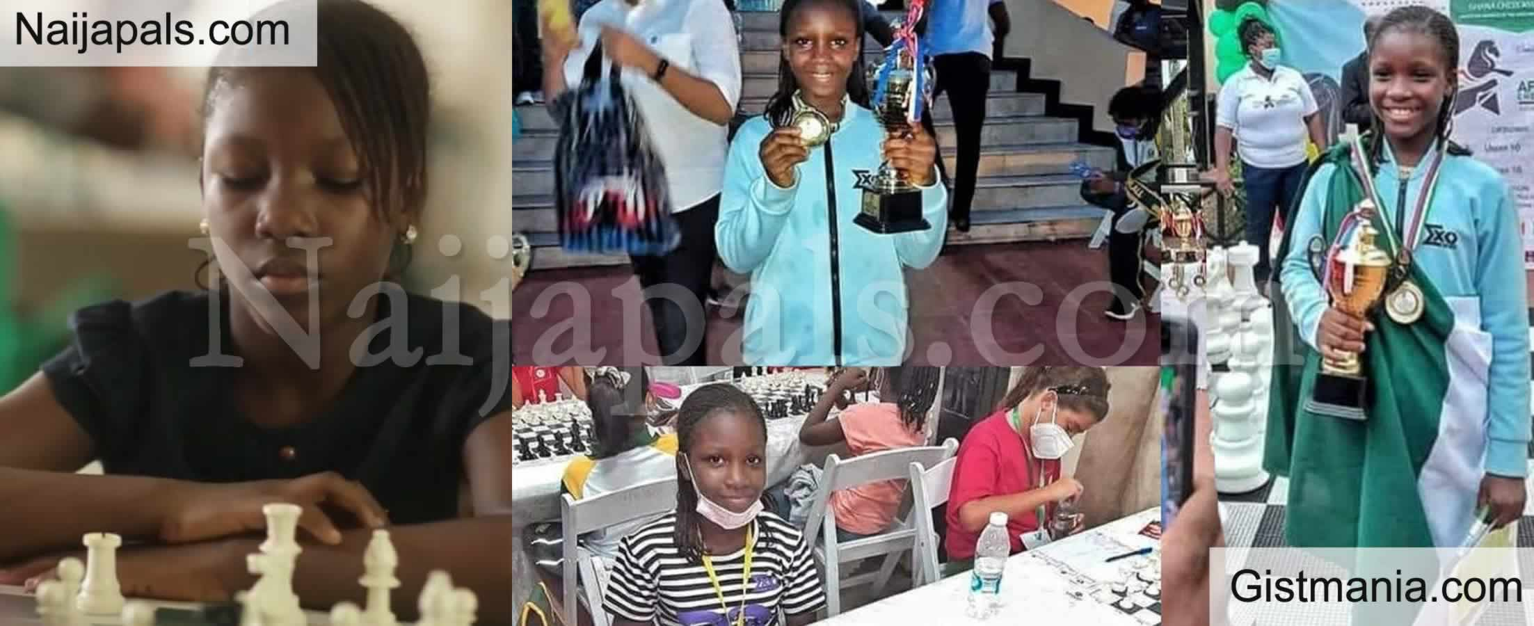 <img alt='.' class='lazyload' data-src='https://img.gistmania.com/emot/thumbs_up.gif' /> <b>9 Year Old Nigerian Girl, Deborah Quickpen Emerges African's Champion in the Game of Chess</b>