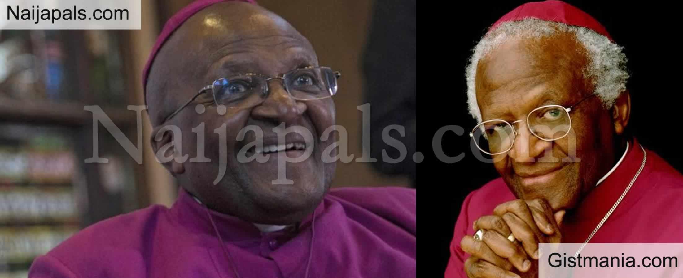 <img alt='.' class='lazyload' data-src='https://img.gistmania.com/emot/cry.gif' /> <b>Anti-aparthied South African Bishop, Desmond Tutu Dies At Age 90</b>