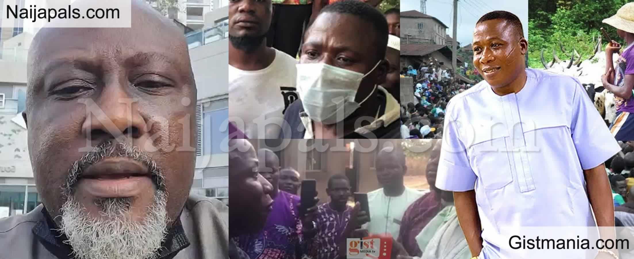 <img alt='.' class='lazyload' data-src='https://img.gistmania.com/emot/video.gif' /> VIDEO: <b>Dino Melaye Releases New Track Hailing Yoruba Activist, Sunday Igboho</b>