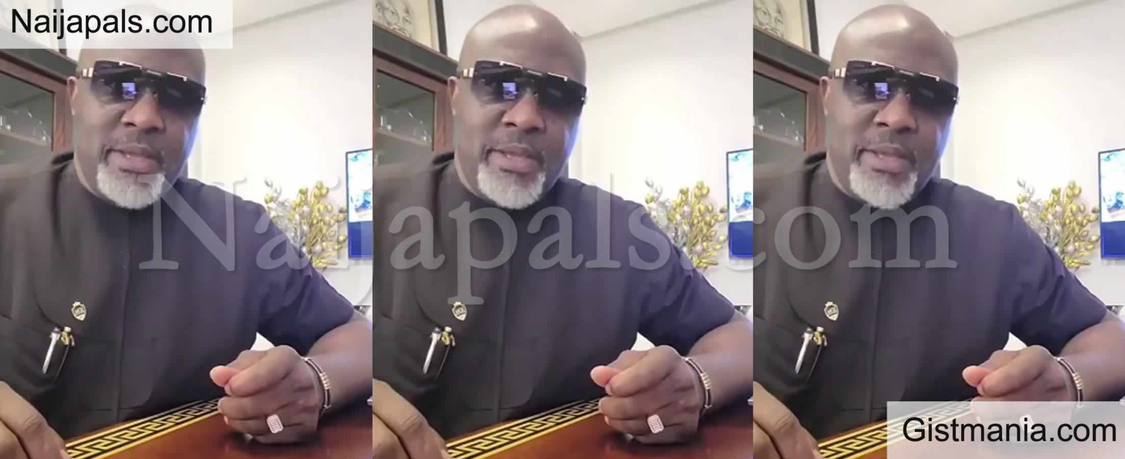 <img alt='.' class='lazyload' data-src='https://img.gistmania.com/emot/video.gif' /> Video: <b>Buhari Is Yet To Join Our Ancestors, But He Is On Transition</b> - Dino Melaye Confirms