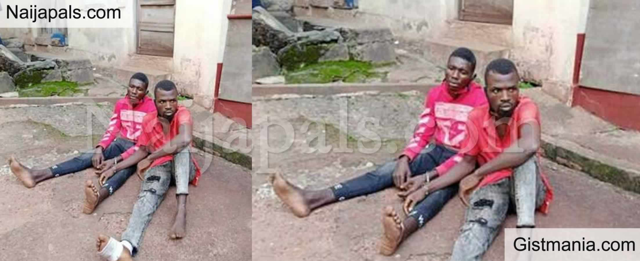 <img alt='.' class='lazyload' data-src='https://img.gistmania.com/emot/shocked.gif' /> <b>Dismissed Soldier, Ifesinachi Nwankwo Arrested For Murder And Armed Robbery In Enugu</b>