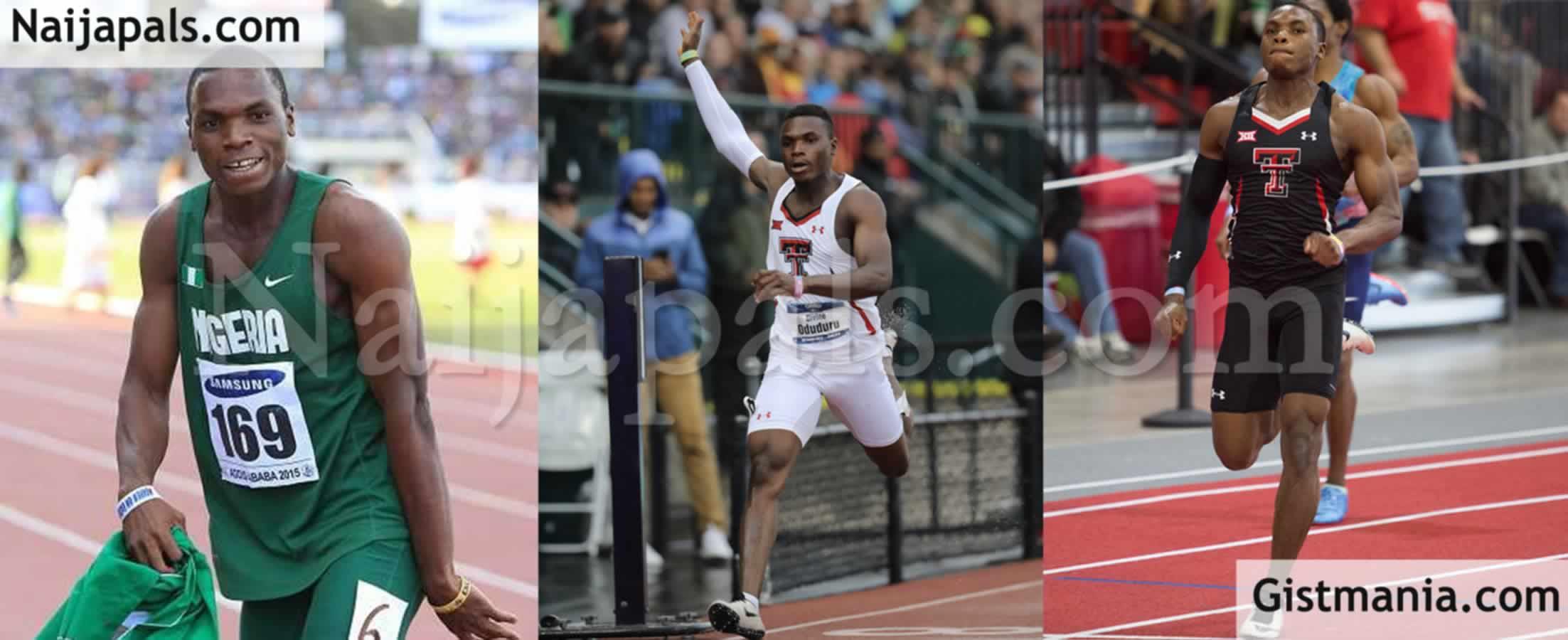 <img alt='.' class='lazyload' data-src='https://img.gistmania.com/emot/shocked.gif' /><img alt='.' class='lazyload' data-src='https://img.gistmania.com/emot/smh.gif' /> MORE BAD NEWS! <b>Nigerian Athlete, Divine Oduduru Disqualified For False Start At Tokyo Olympics</b>