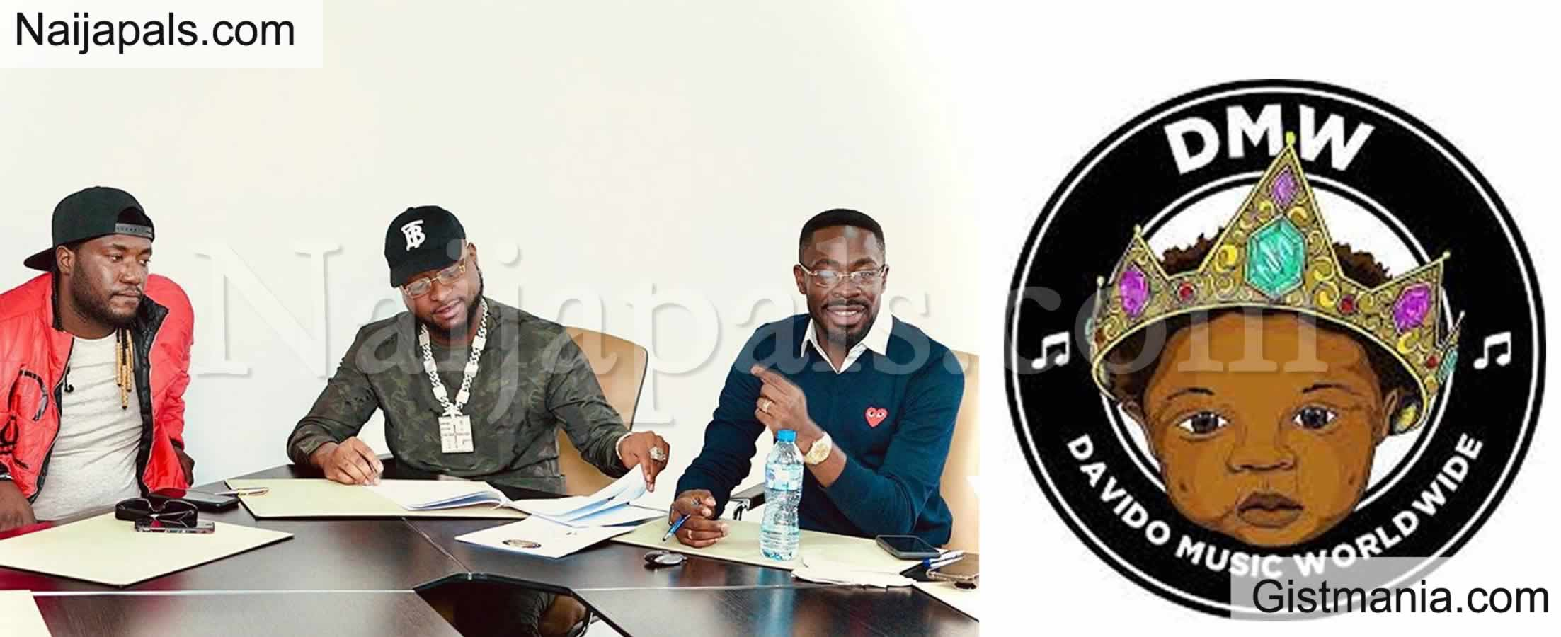 <img alt='.' class='lazyload' data-src='https://img.gistmania.com/emot/comment.gif' /> <b>Davido Signs New Artiste, Dehinde To His DMW Record Label</b>