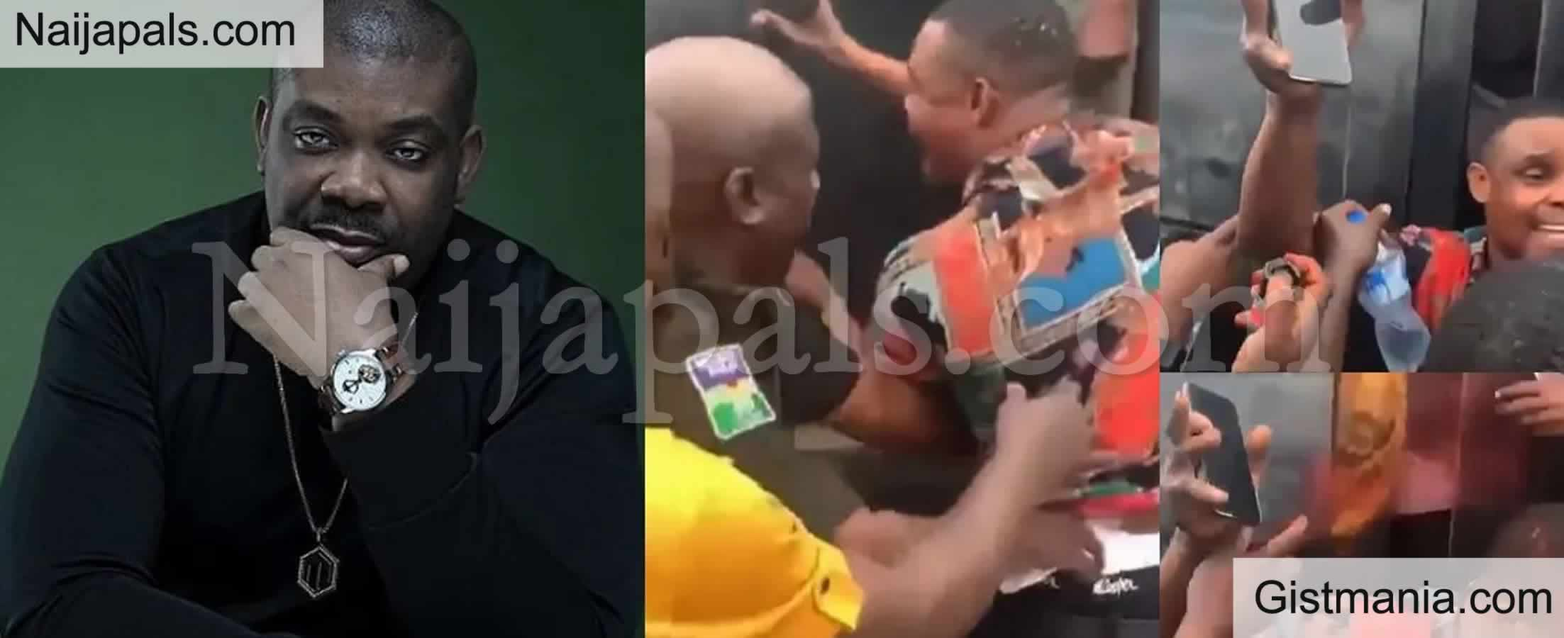"""<img alt='.' class='lazyload' data-src='https://img.gistmania.com/emot/comment.gif' /> <b>""""Tomorrow They Will Say It Never Happened"""" – Don Jazzy Fumes At Video Of A Taxi Driver Battered</b>"""