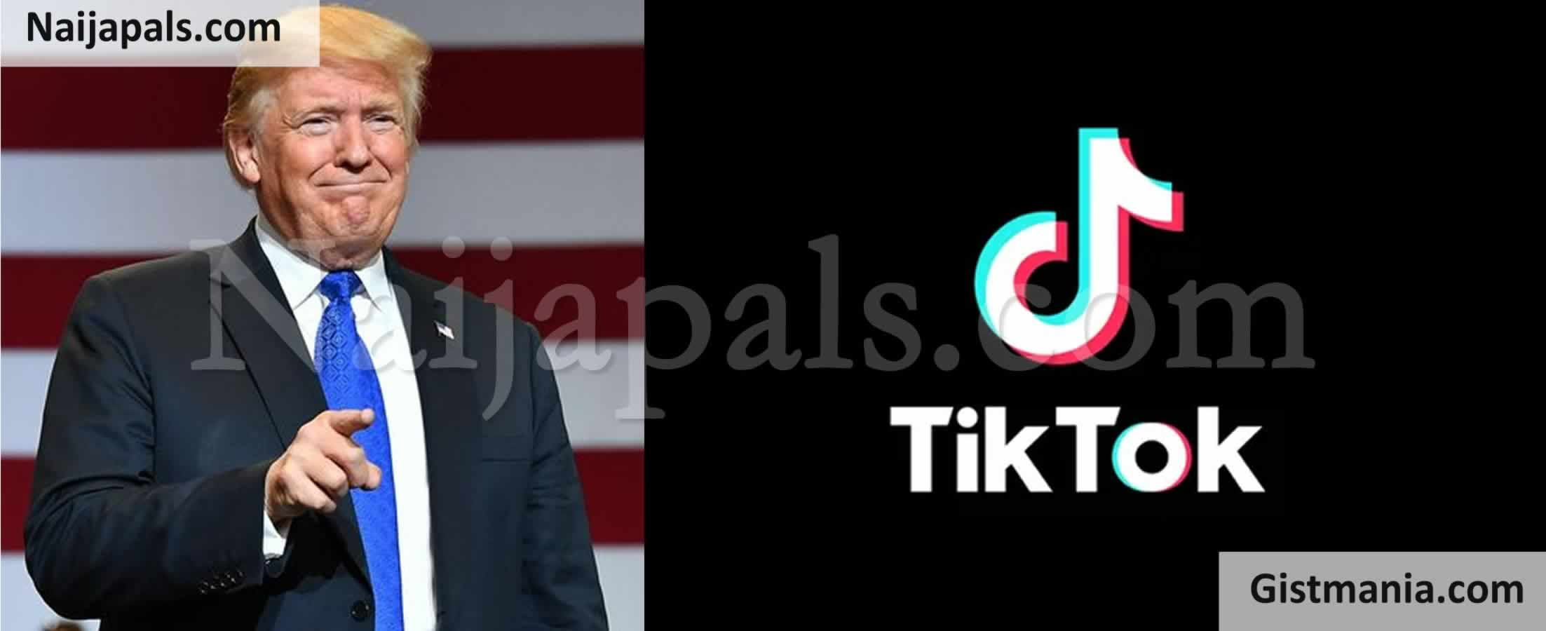 <img alt='.' class='lazyload' data-src='https://img.gistmania.com/emot/comment.gif' /> <b>Donald Trump Bans TikTok, WeChat From App Stores Beginning From 20th September 2020</b>