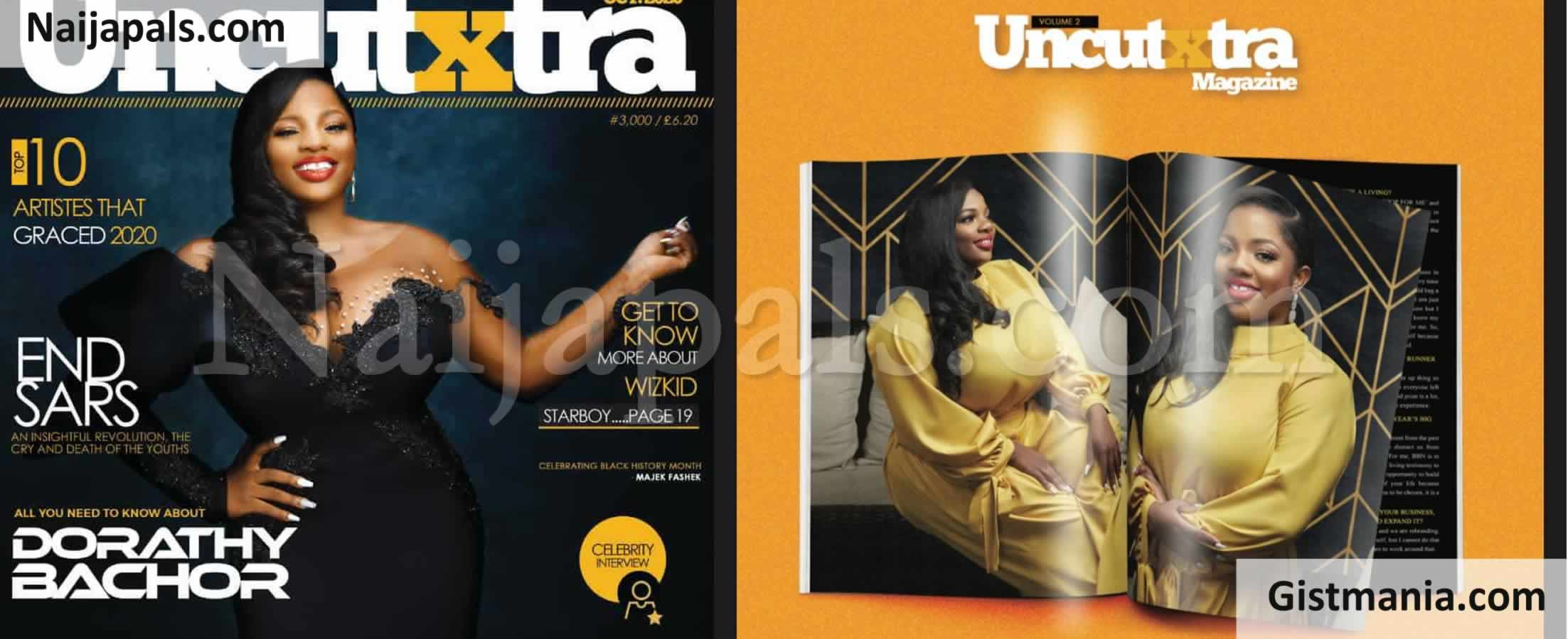 <img alt='.' class='lazyload' data-src='https://img.gistmania.com/emot/photo.png' /> <b>BBNaija 1st Runner-Up, Dorathy Bachor Graces Front Page Of Nigerian Magazine, Uncutxtra</b> (Photos)
