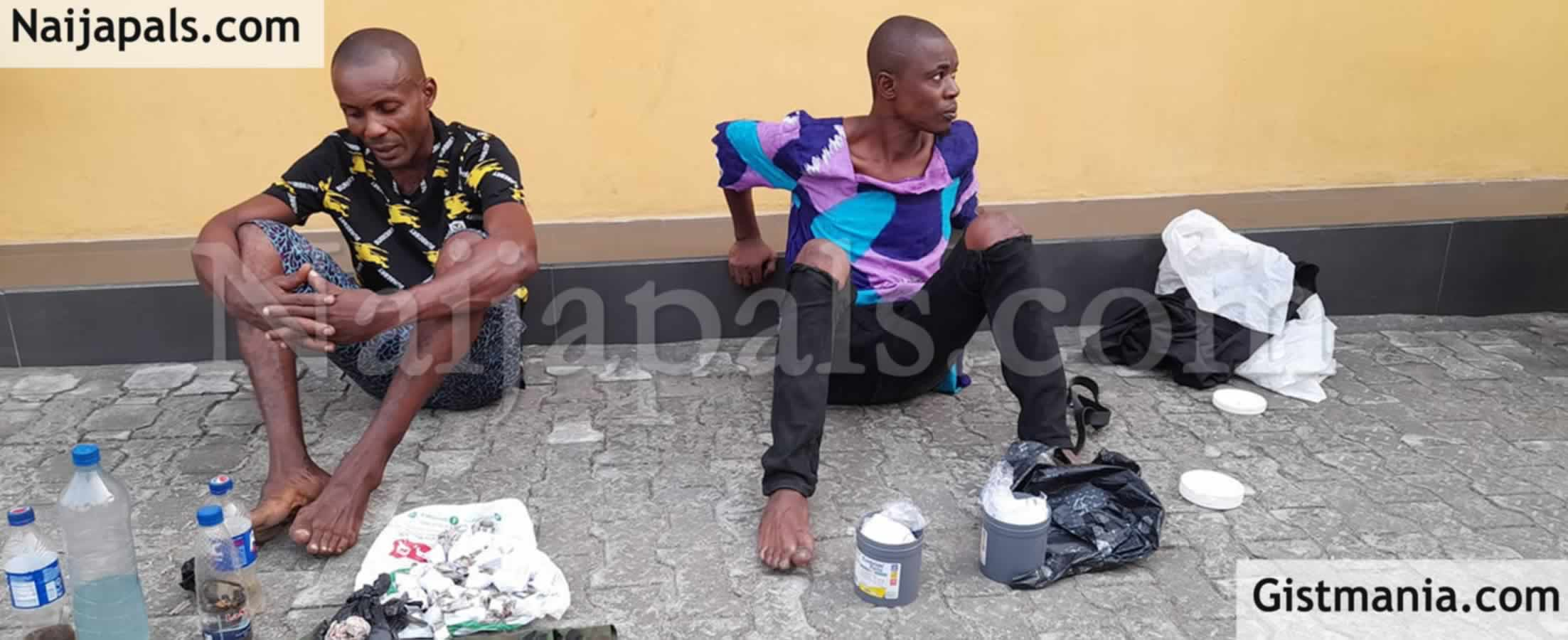 <img alt='.' class='lazyload' data-src='https://img.gistmania.com/emot/news.gif' /> <b>Photo Of Two Suspected Drug Peddlers Arrested By Govt Security Outfit In Cross River State</b>