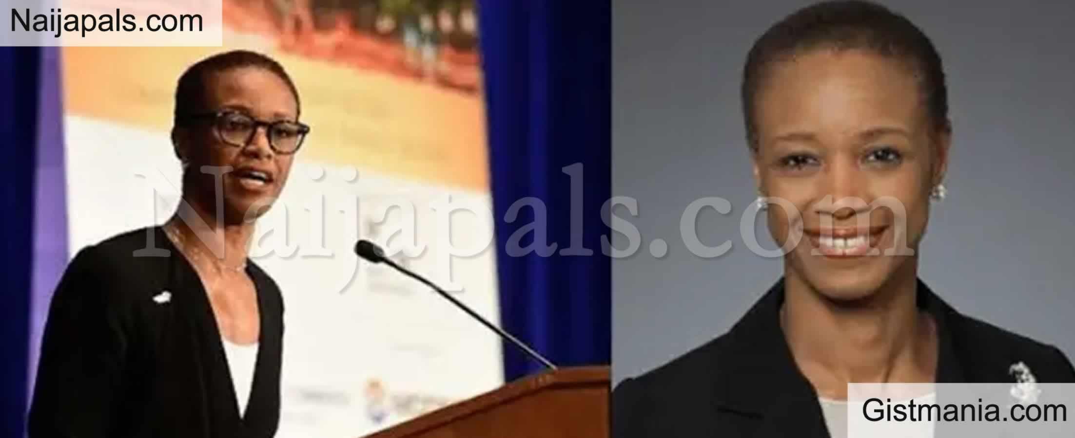 <img alt='.' class='lazyload' data-src='https://img.gistmania.com/emot/news.gif' /> <b>US President, Joe Biden Appoints Nigerian Born Enoh Titilayo Ebong US Director of Trade</b>