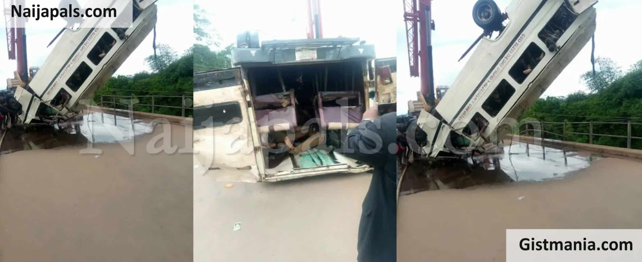 <img alt='.' class='lazyload' data-src='https://img.gistmania.com/emot/news.gif' /> BREAKING! <b>Scores Missing As Truck Plunges Into River In Lagos</b>