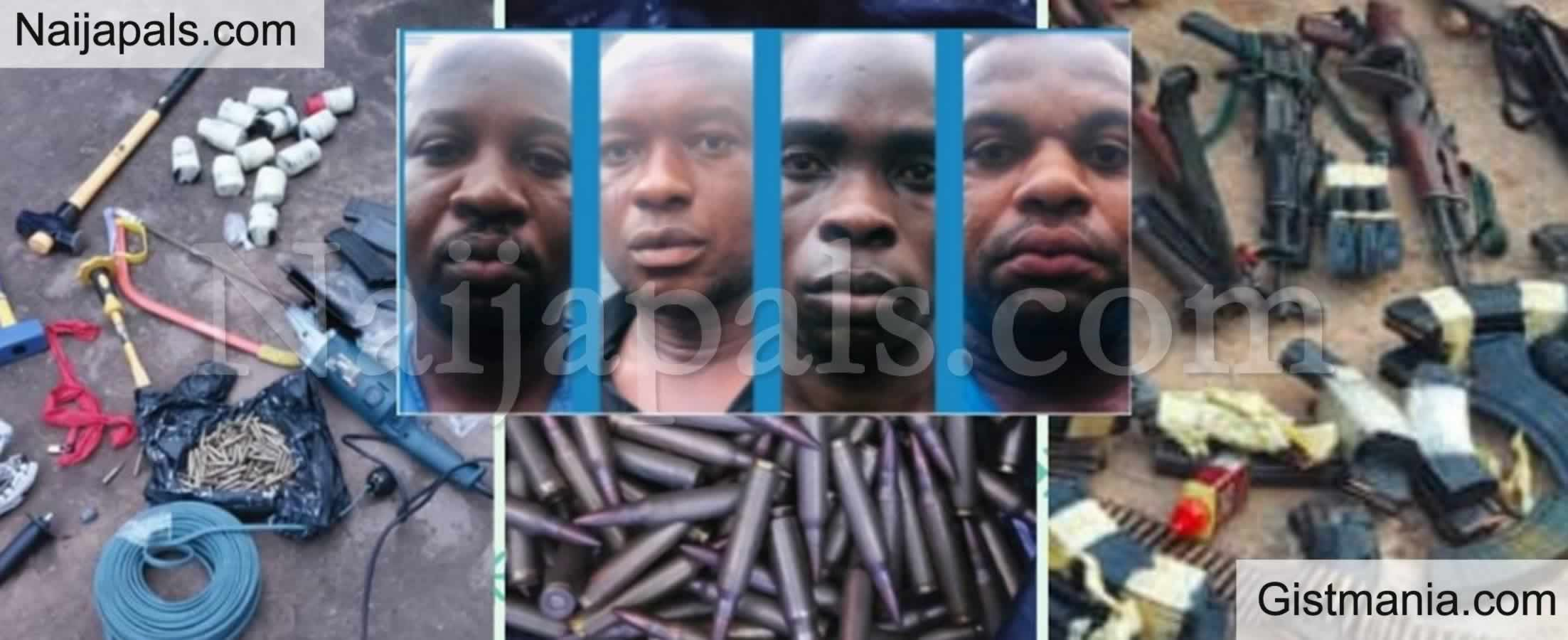 <img alt='.' class='lazyload' data-src='https://img.gistmania.com/emot/comment.gif' /> <b>Ebonyi Bullion Van Robbery Suspects Arrested, Police Recovers Weapons, Charms, Cars, Others</b>