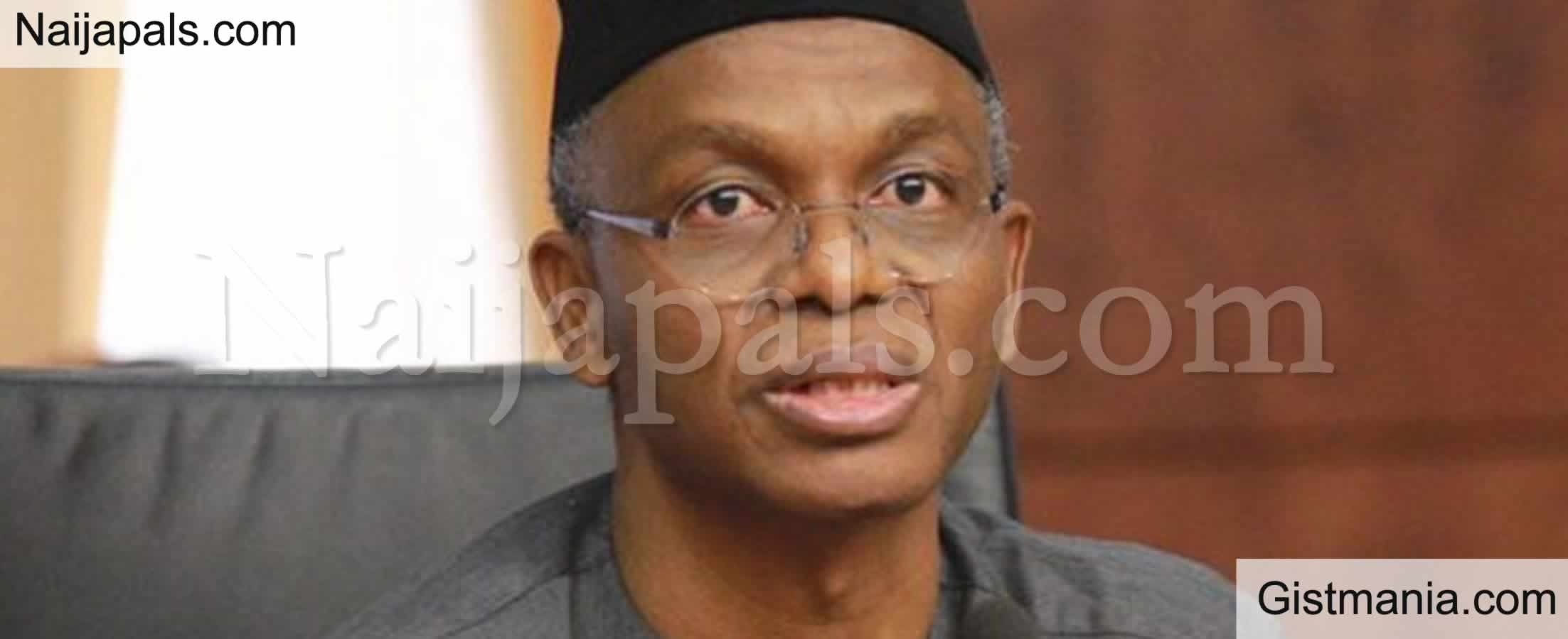 <img alt='.' class='lazyload' data-src='https://img.gistmania.com/emot/comment.gif' /> <b>Governor El-Rufai Bemoans Low UTME Cut-Off Mark, Says It Is Making Northern Youths Lazy</b>