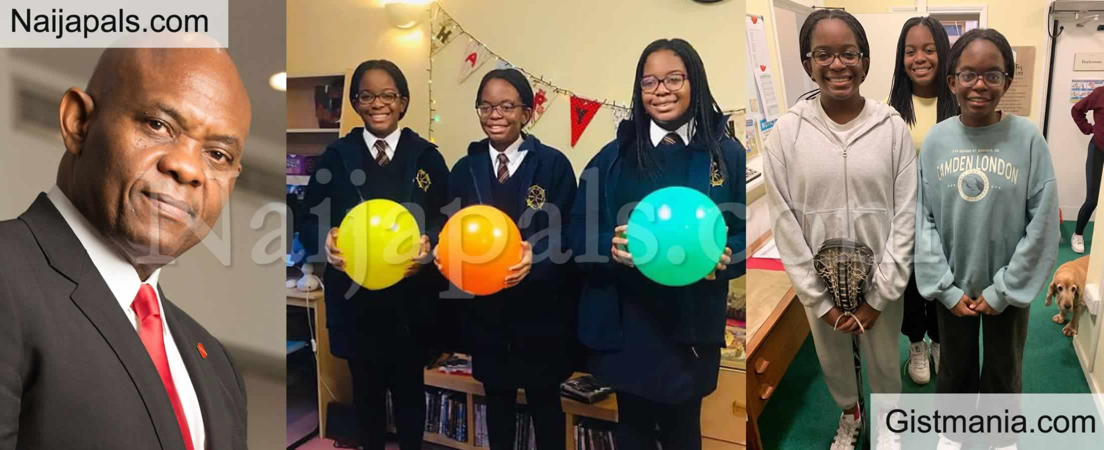 <img alt='.' class='lazyload' data-src='https://img.gistmania.com/emot/comment.gif' /> <b>Photos: My Girls Are 14 - Tony Elumelu Celebrates His Triplet Daughters On Their Birthday</b>