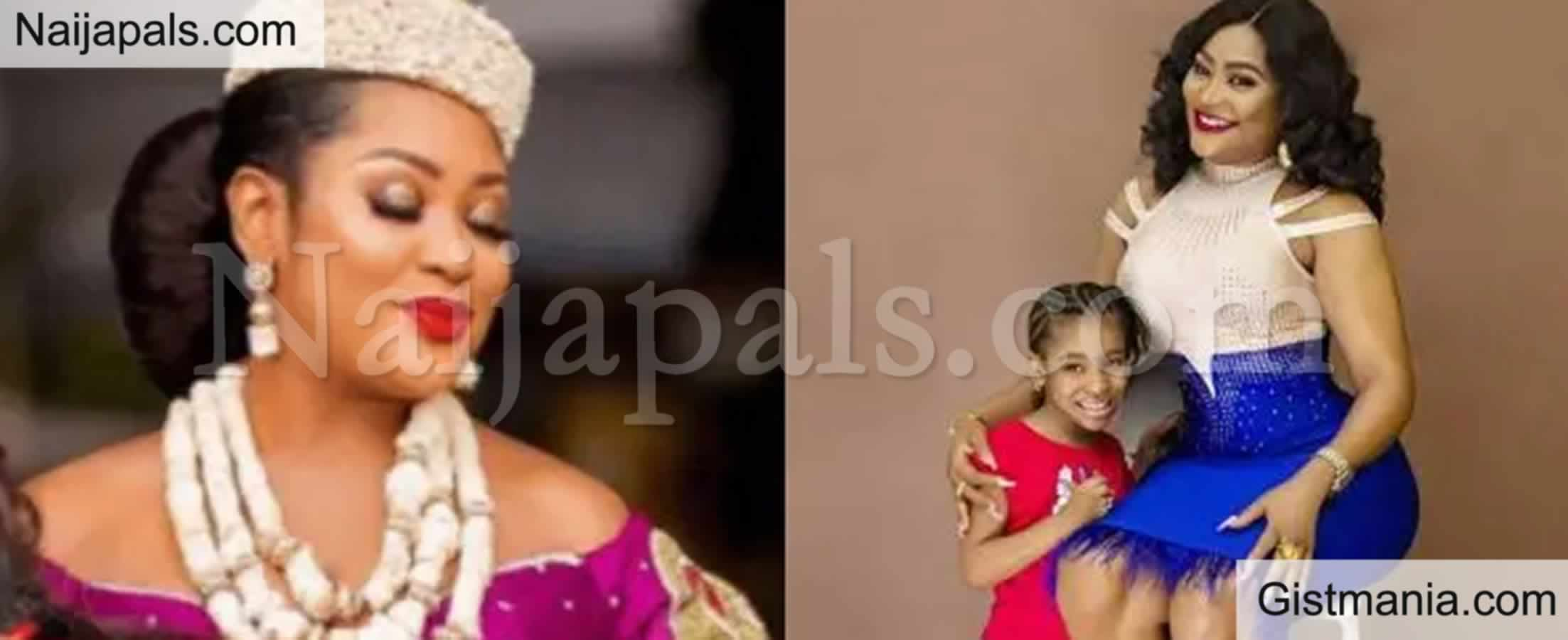 <img alt='.' class='lazyload' data-src='https://img.gistmania.com/emot/comment.gif' /> <b>Actress Uche Elendu Slams Troll Who Accuses Her Of Constantly Lying About Her Daughter's Age</b>