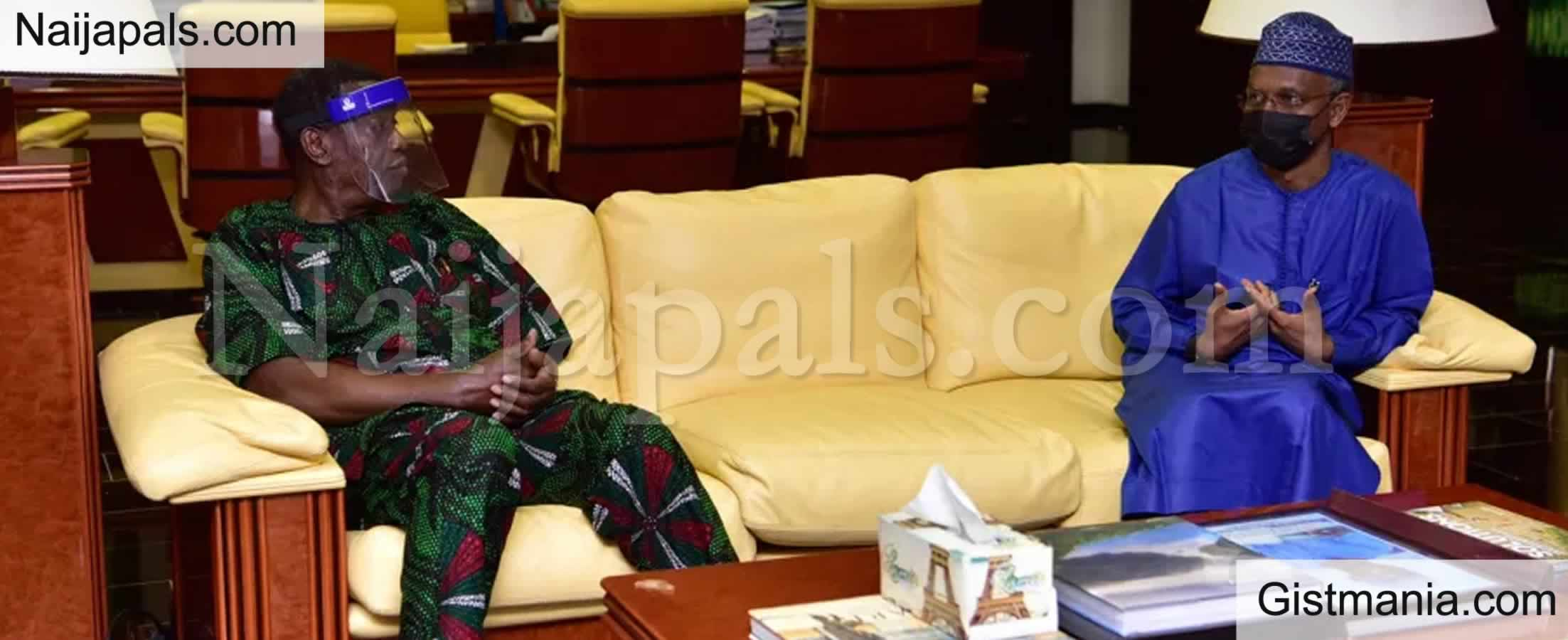 <img alt='.' class='lazyload' data-src='https://img.gistmania.com/emot/comment.gif' /> PHOTOS: <b>Pastor E.A. Adeboye In a Closed Door Meeting With Gov El-Rufai in Kaduna</b>