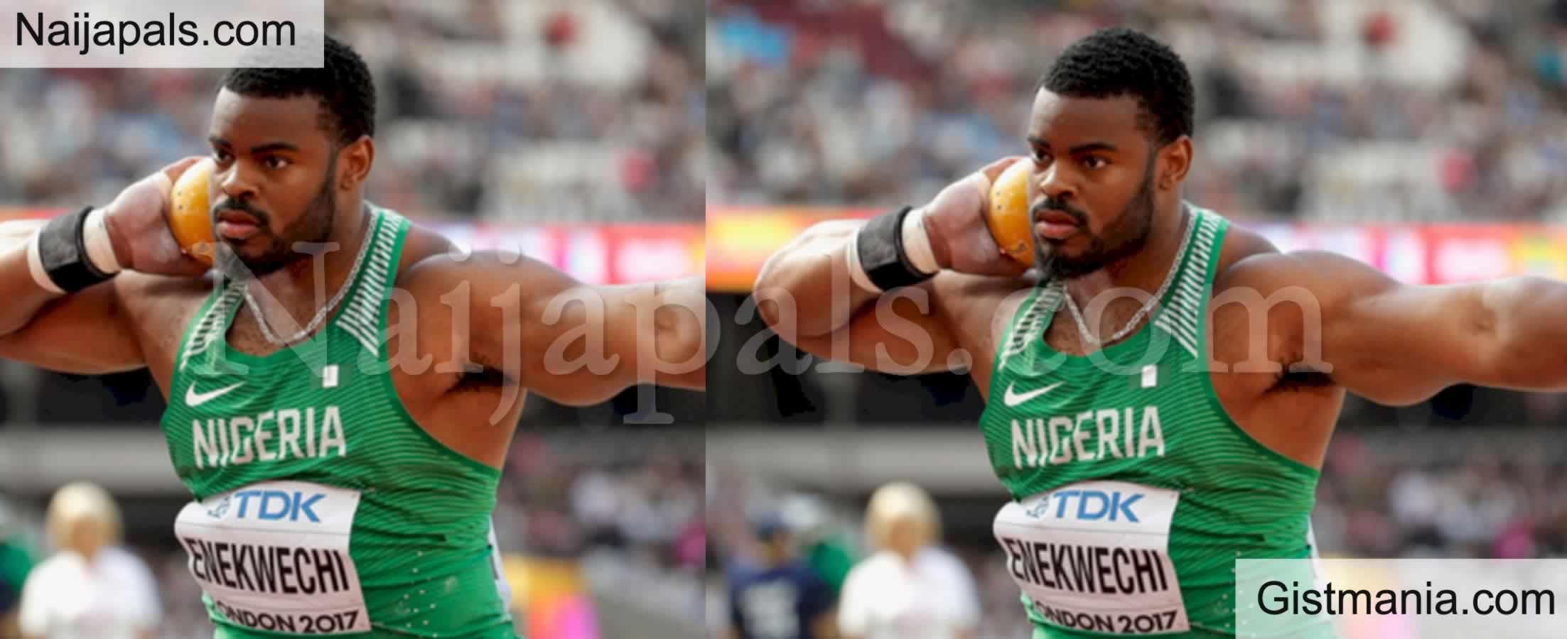 <img alt='.' class='lazyload' data-src='https://img.gistmania.com/emot/comment.gif' /> <b>Tokyo Olympics: 28-Year-Old Nigeria's Enekwechi Qualifies For Men's Shot Put Final</b>
