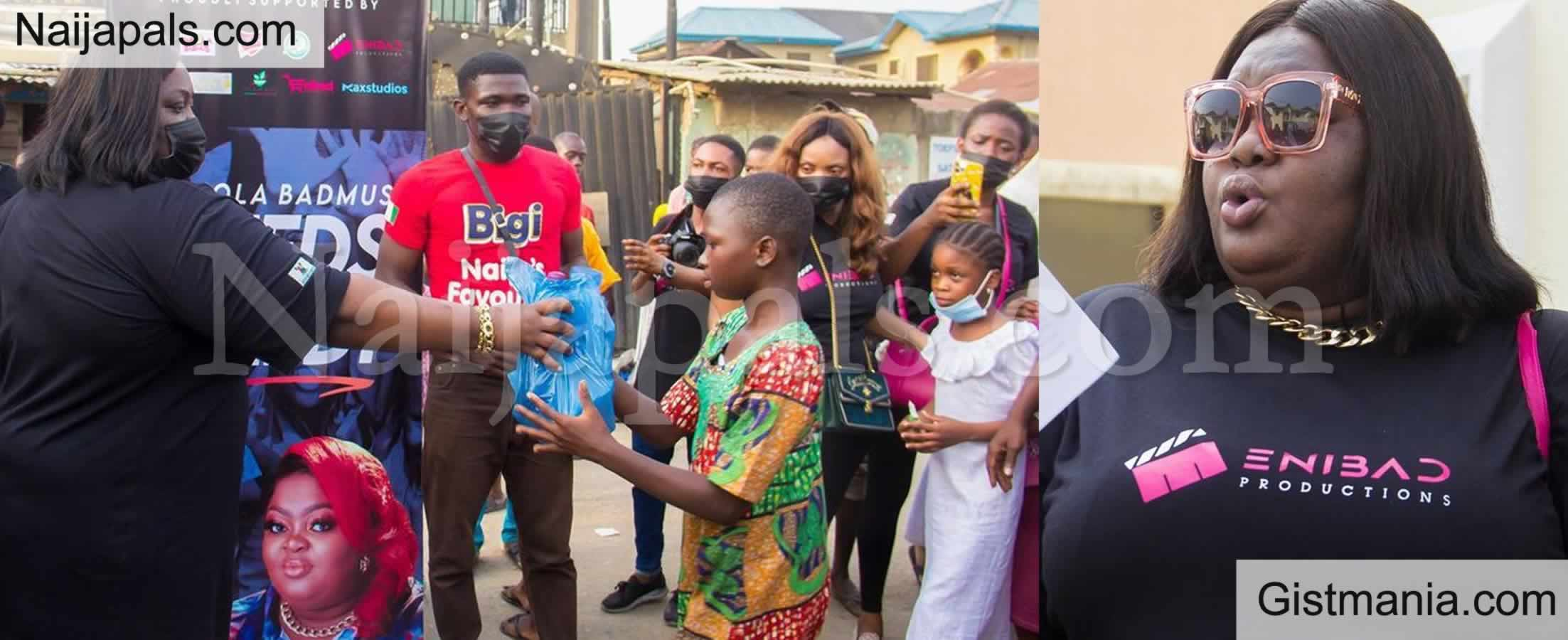 <img alt='.' class='lazyload' data-src='https://img.gistmania.com/emot/photo.png' /> <b>Despite Ban on Taking Photos in Orphanages, Actress Eniola Badmus Shares Shots From Her Visit</b>