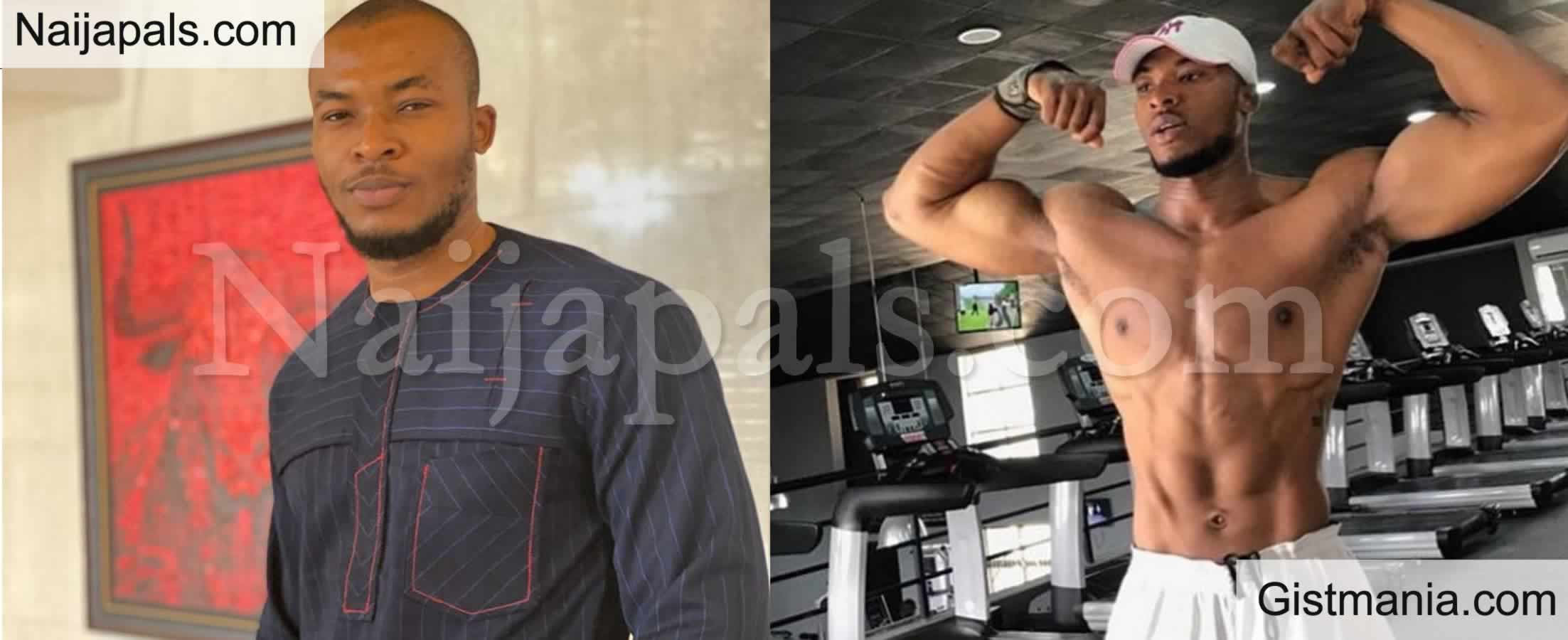 <img alt='.' class='lazyload' data-src='https://img.gistmania.com/emot/comment.gif' /> <b>Why I Always Walked Around Shirtless While In #BBNaija House</b> - Evicted Housemate Eric