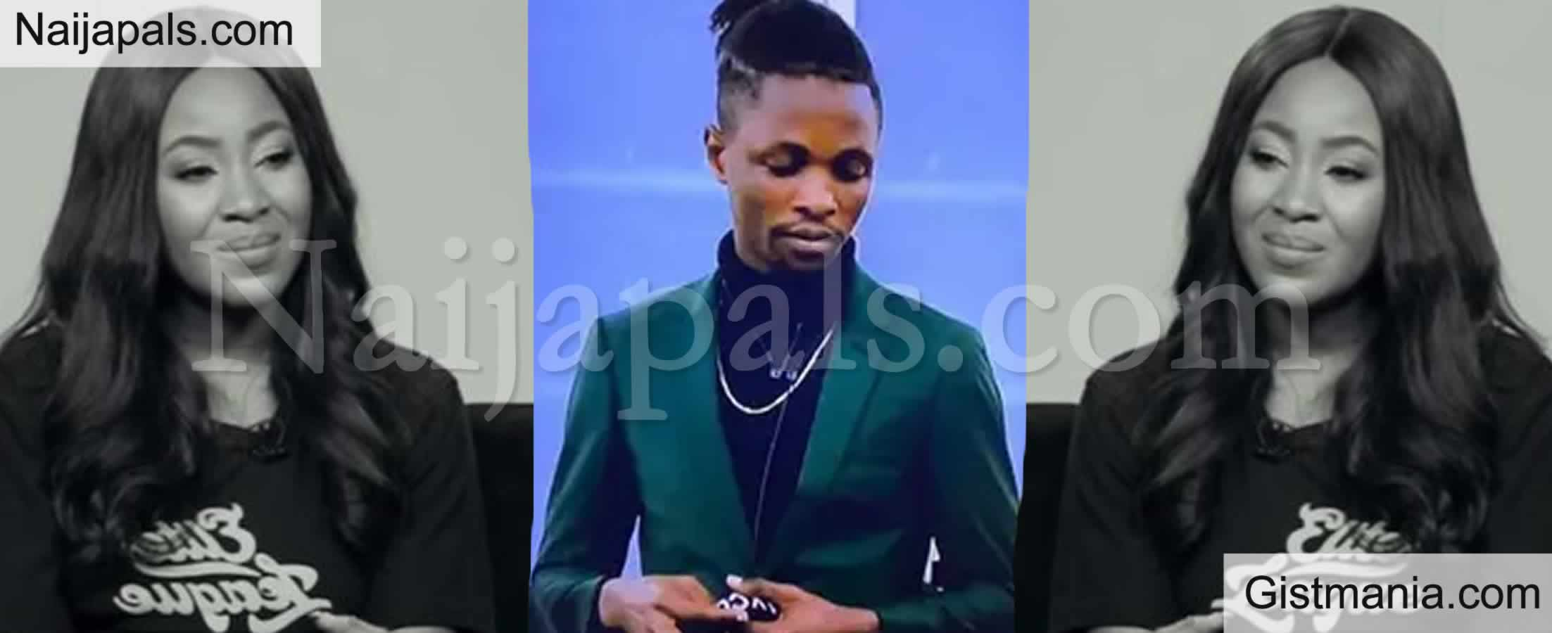 "<img alt='.' class='lazyload' data-src='https://img.gistmania.com/emot/comment.gif' /> <b>""You're Wonderful, You're Amazing"" -BBNaija, Laycon Gushes Over Colleague, Erica </b>"
