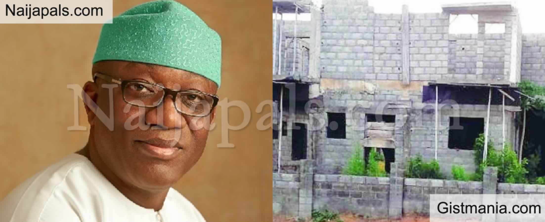 "<img alt='.' class='lazyload' data-src='https://img.gistmania.com/emot/news.gif' /> <b>""Abandoned Buildings Are Hideouts For Criminals"" -Ekiti Govt Warn Owners, Threaten To Take Over</b>"