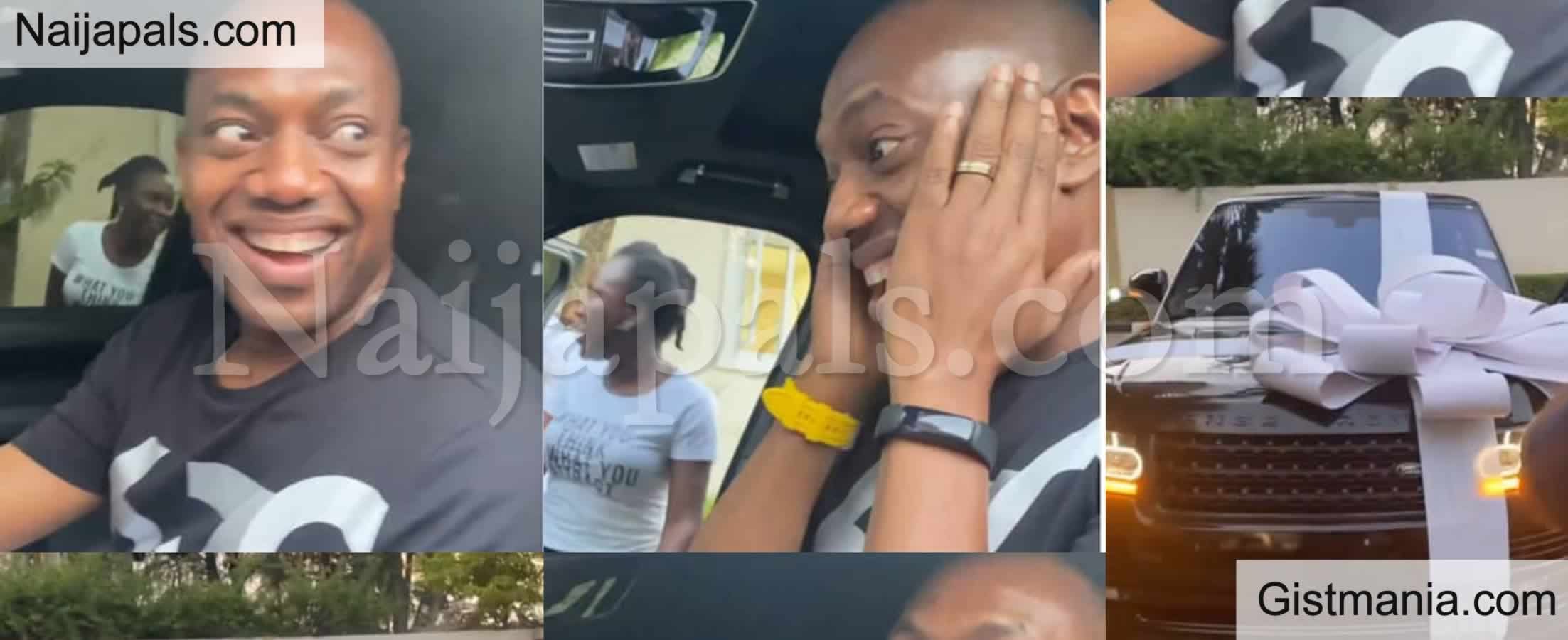 <img alt='.' class='lazyload' data-src='https://img.gistmania.com/emot/video.gif' /> Video: <b>Fela Durotoye's Mentees Celebrate Him With Range Rover Gift Ahead Of His 50th Birthday</b>
