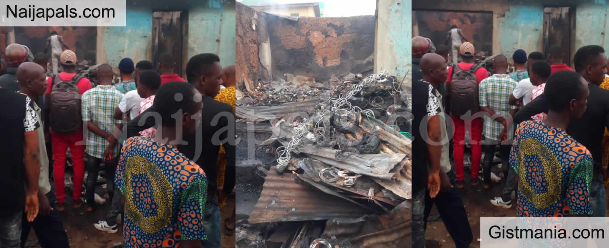 <img alt='.' class='lazyload' data-src='https://img.gistmania.com/emot/news.gif' /> <b>Artworks Worth Millions Of Naira Destroyed As Fire Razes Popular Osogbo Artists Village</b>