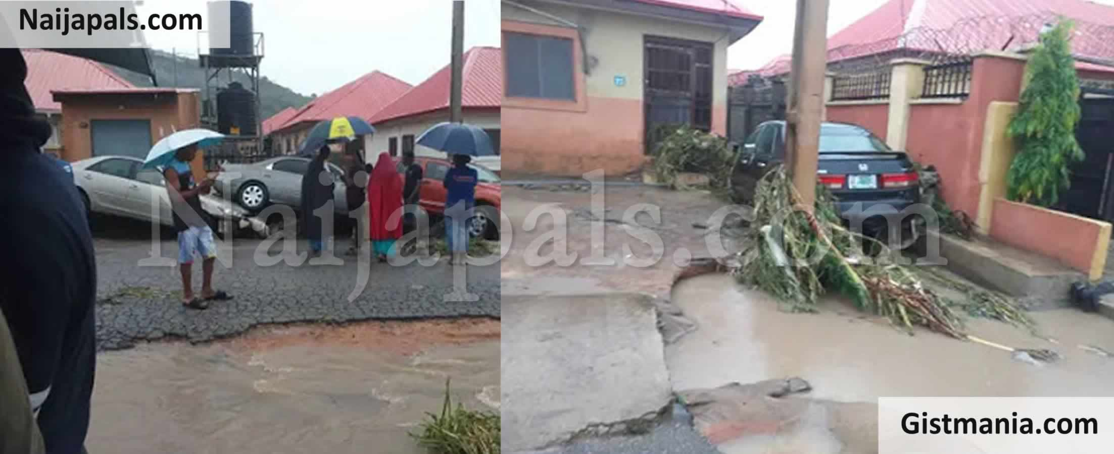 <img alt='.' class='lazyload' data-src='https://img.gistmania.com/emot/video.gif' /> <b>Watch As Heavy Torrential Rain Flood Submerge Buildings, Cars And Properties In Kaduna</b>
