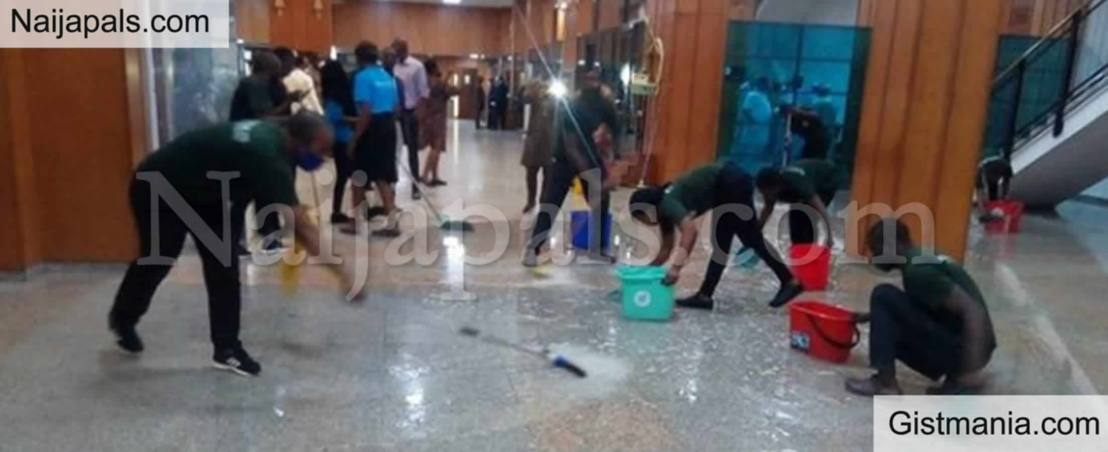 """<img alt='.' class='lazyload' data-src='https://img.gistmania.com/emot/comment.gif' /> <b>""""We're Not Responsible For Maintenance Of NASS Complex"""" -Ahmad Lawal Speaks On Roof Leakage</b>"""