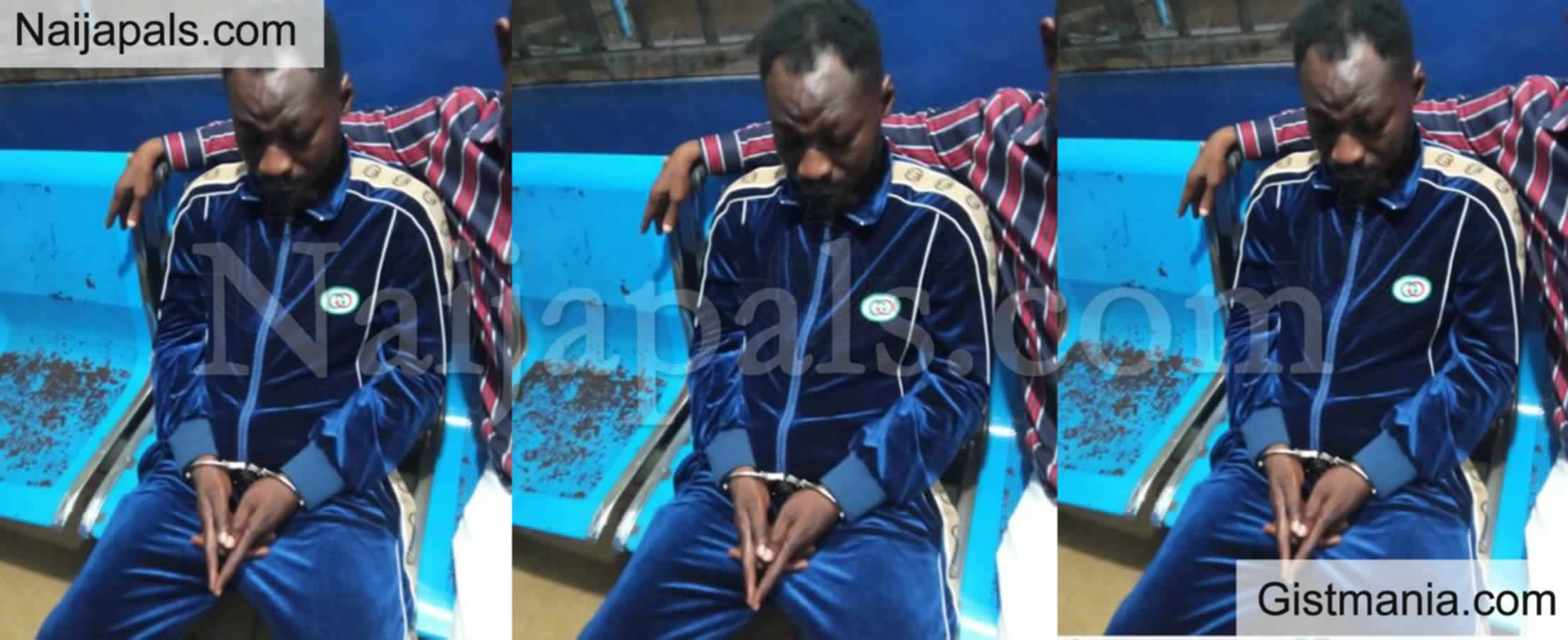 <img alt='.' class='lazyload' data-src='https://img.gistmania.com/emot/news.gif' /> Comedian <b>Funny Face Arrested For Threatening To Kill Baby Mama </b>(PHOTO)