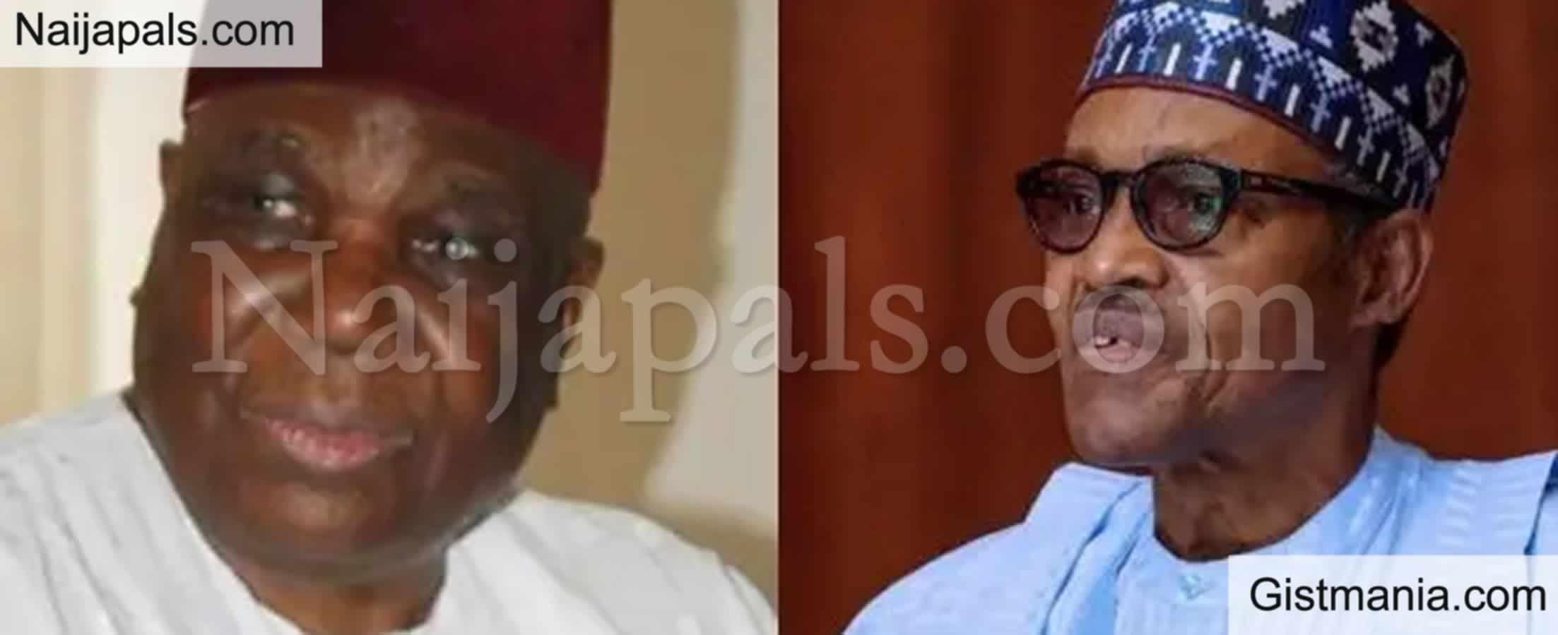 <img alt='.' class='lazyload' data-src='https://img.gistmania.com/emot/cry.gif' /> JUST IN: <b>President Buhari Mourns Death Of Former IGP, Gambo Jimeta</b>