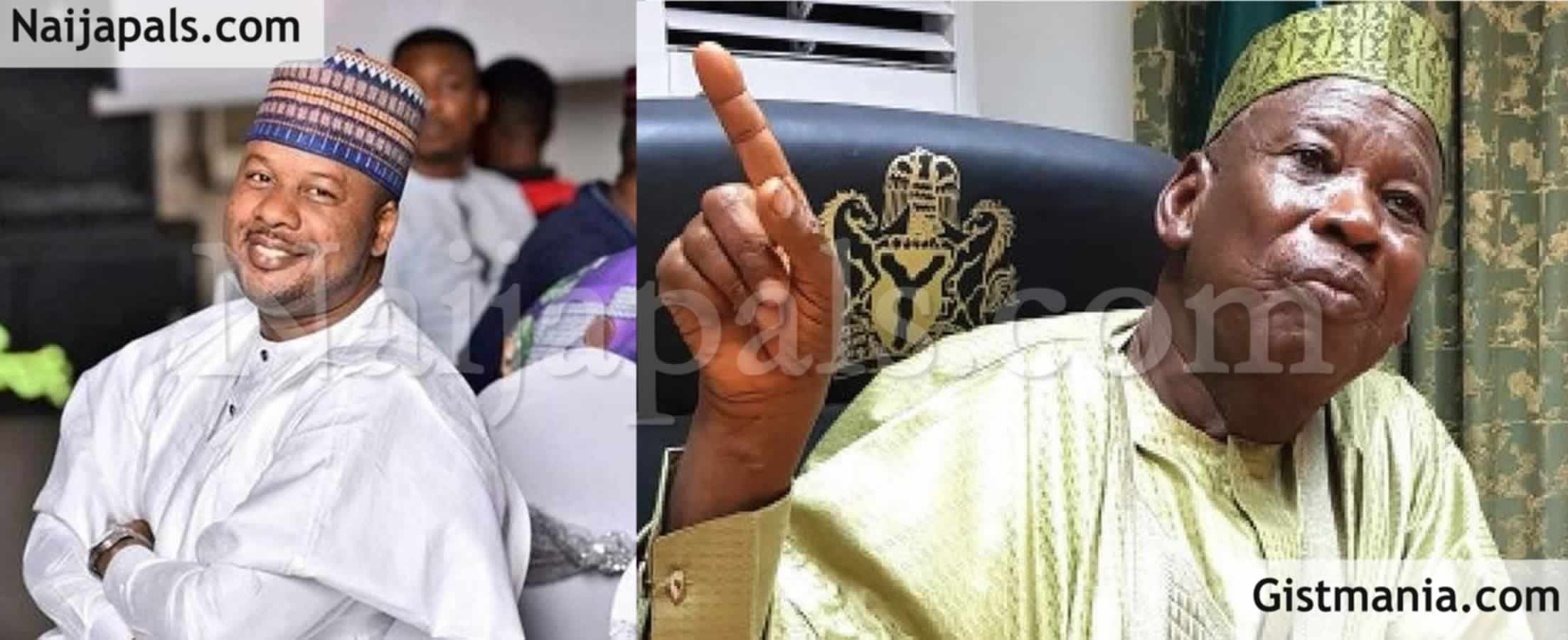 <img alt='.' class='lazyload' data-src='https://img.gistmania.com/emot/comment.gif' /> <b>Speaking Truth Now A Crime – See How Nigerians React To Ganduje Aide, Yakasai's Arrest, Sack</b>