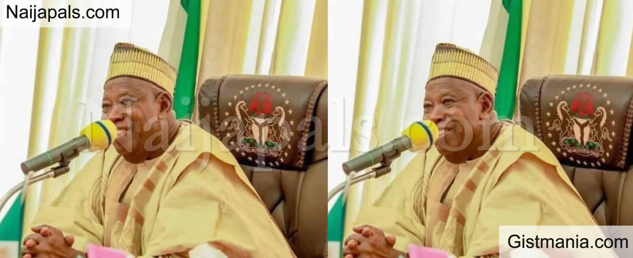 <img alt='.' class='lazyload' data-src='https://img.gistmania.com/emot/news.gif' /><b> Kano Gov. Ganduje Reveals The State Is Winning Against Spread Of Coronavirus</b>