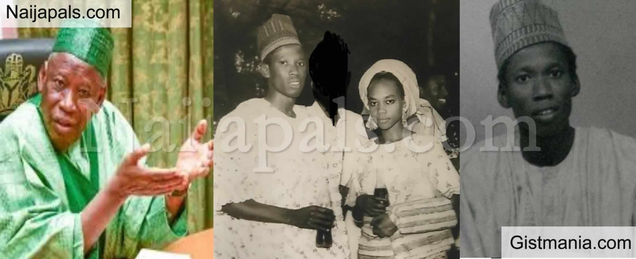 <img alt='.' class='lazyload' data-src='https://img.gistmania.com/emot/photo.png' /> <b>Check out Throwback Photo Of Governor Ganduje Of Kano And His Wife Hafsat Umar Ganduje</b>