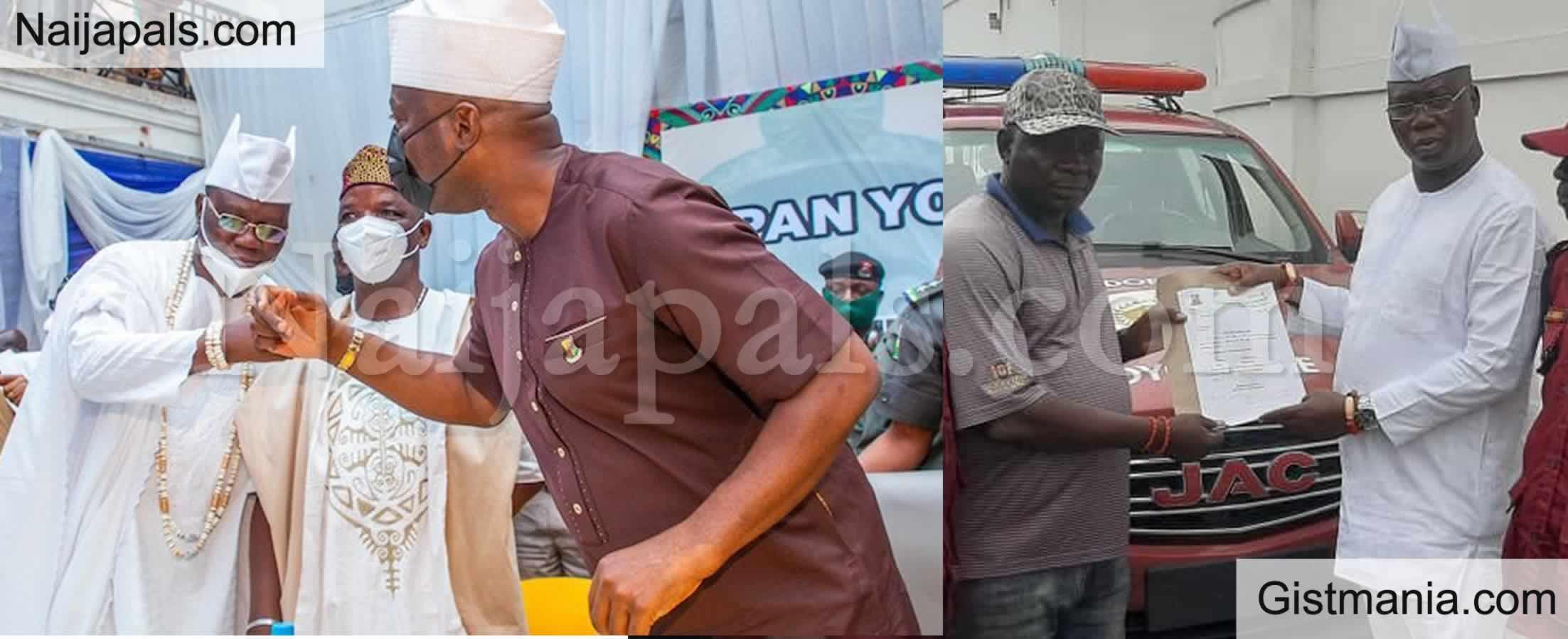 <img alt='.' class='lazyload' data-src='https://img.gistmania.com/emot/news.gif' /> <b>Gov. Makinde Appoints OPC Leader Gani Adams As Amotekun Ambassador in Oyo State</b>