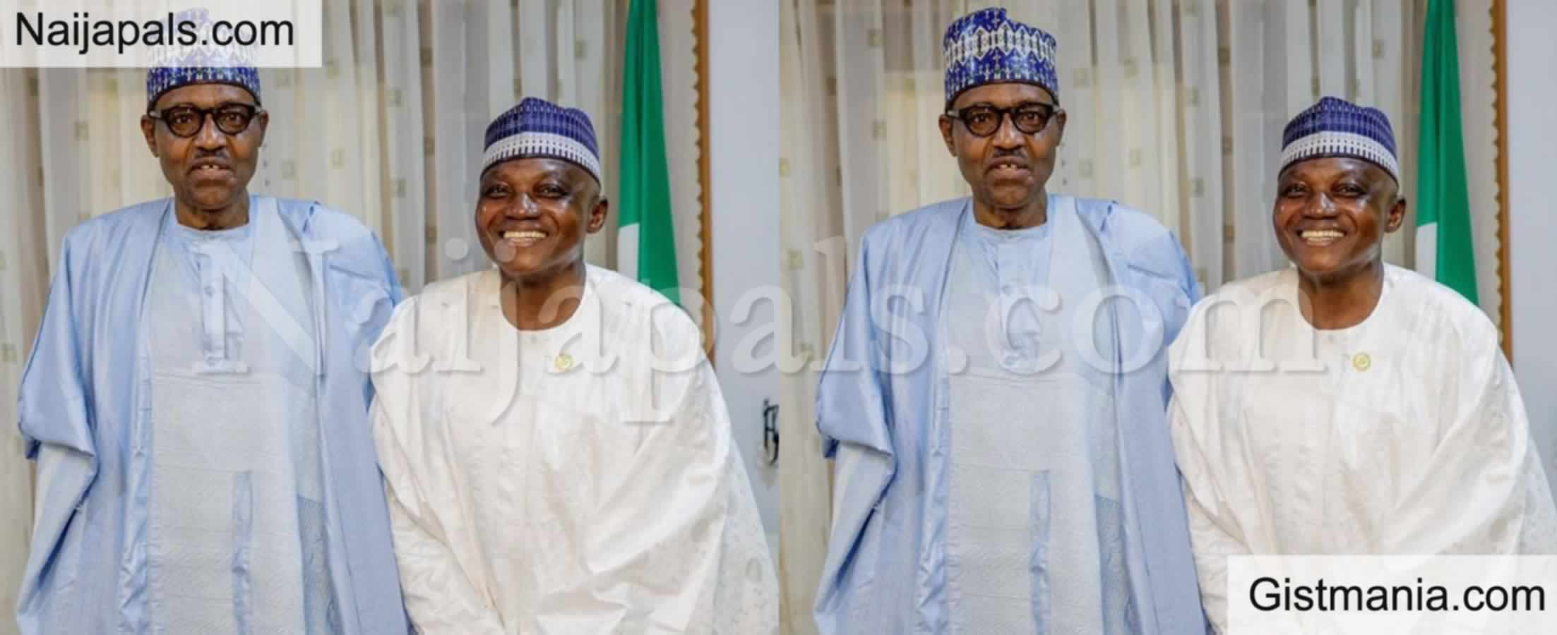 "<img alt='.' class='lazyload' data-src='https://img.gistmania.com/emot/news.gif' /> <b>""There Was No Fire Inside The Presidential Villa"" -Buhari's SSA, Garba Shehu Debunks News</b>"