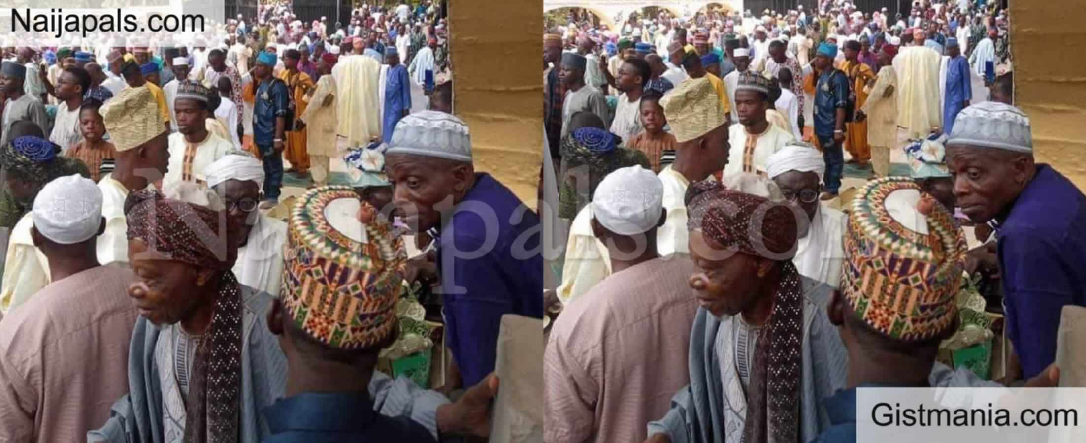 <img alt='.' class='lazyload' data-src='https://img.gistmania.com/emot/comment.gif' /> <b>Confusion As Chief Imam Of Ibadan, Dahiru Reject Sultan's Directive, Hold Eid On Wednesday</b>