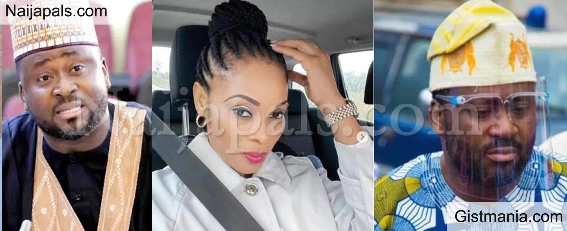 <img alt='.' class='lazyload' data-src='https://img.gistmania.com/emot/comment.gif' /> Power Does Corrupt: <b>Georgina Onuoha Shames Desmond Elliot For Belittling The Youths</b>