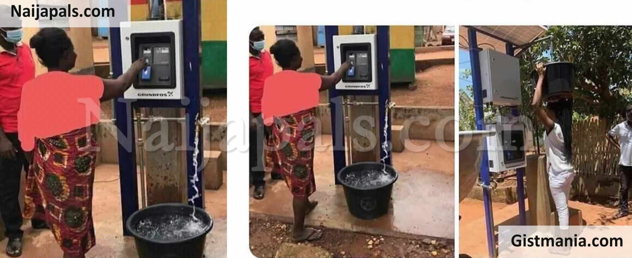 <img alt='.' class='lazyload' data-src='https://img.gistmania.com/emot/photo.png' /> WOW! <b>Ghana Launches Public Water Vending Machine Which Works With ATM Card</b> (Photos)