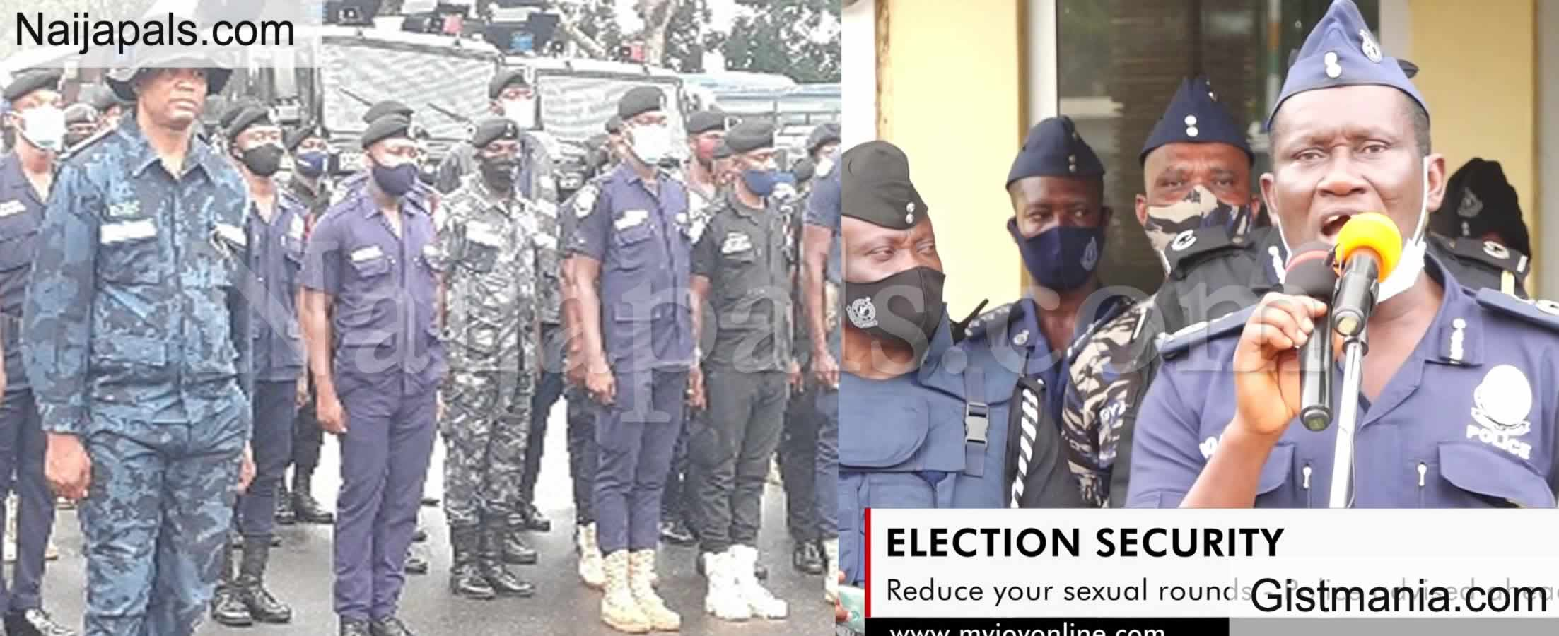 <img alt='.' class='lazyload' data-src='https://img.gistmania.com/emot/video.gif' /> Reduce Your Sex Rounds - <b>Ghana Police Chief Advises Personnel to Save Energy Ahead of Poll</b>