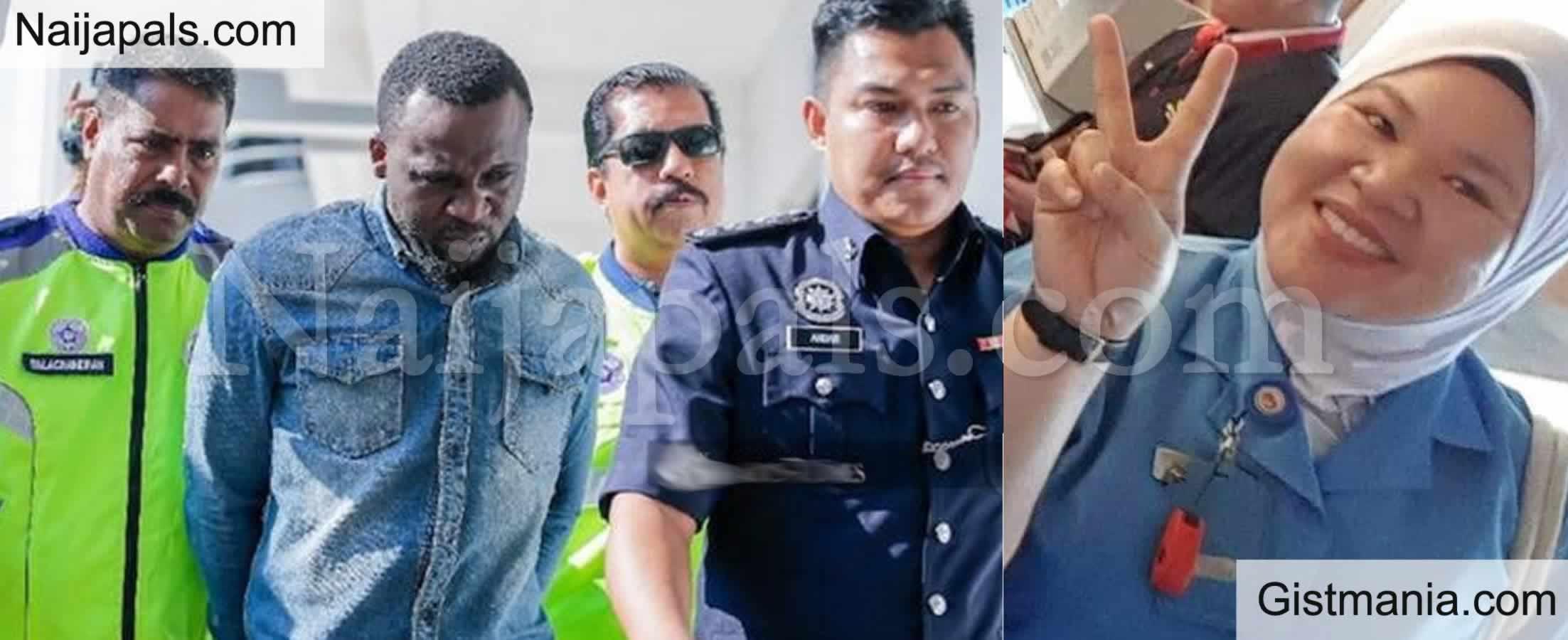<img alt='.' class='lazyload' data-src='https://img.gistmania.com/emot/news.gif' /> <b>Nigerian Man Alowonle Oluwajuwon Sentenced to Death For Killing a Nurse in Malaysia</b>