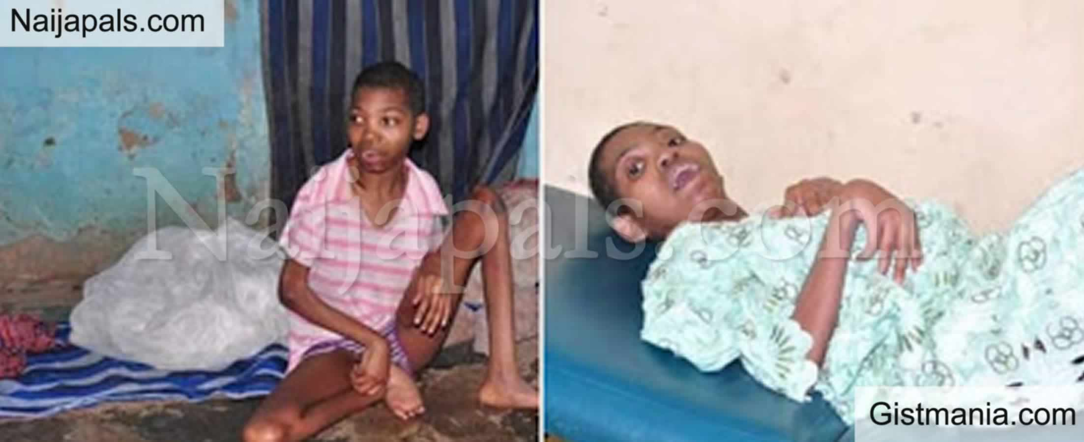 <img alt='.' class='lazyload' data-src='https://img.gistmania.com/emot/shocked.gif' /> <b>Photos Of Opeyemi Olatoke 20, Locked Up & Abandoned In A House For 5Yrs Rescued In Osun</b>
