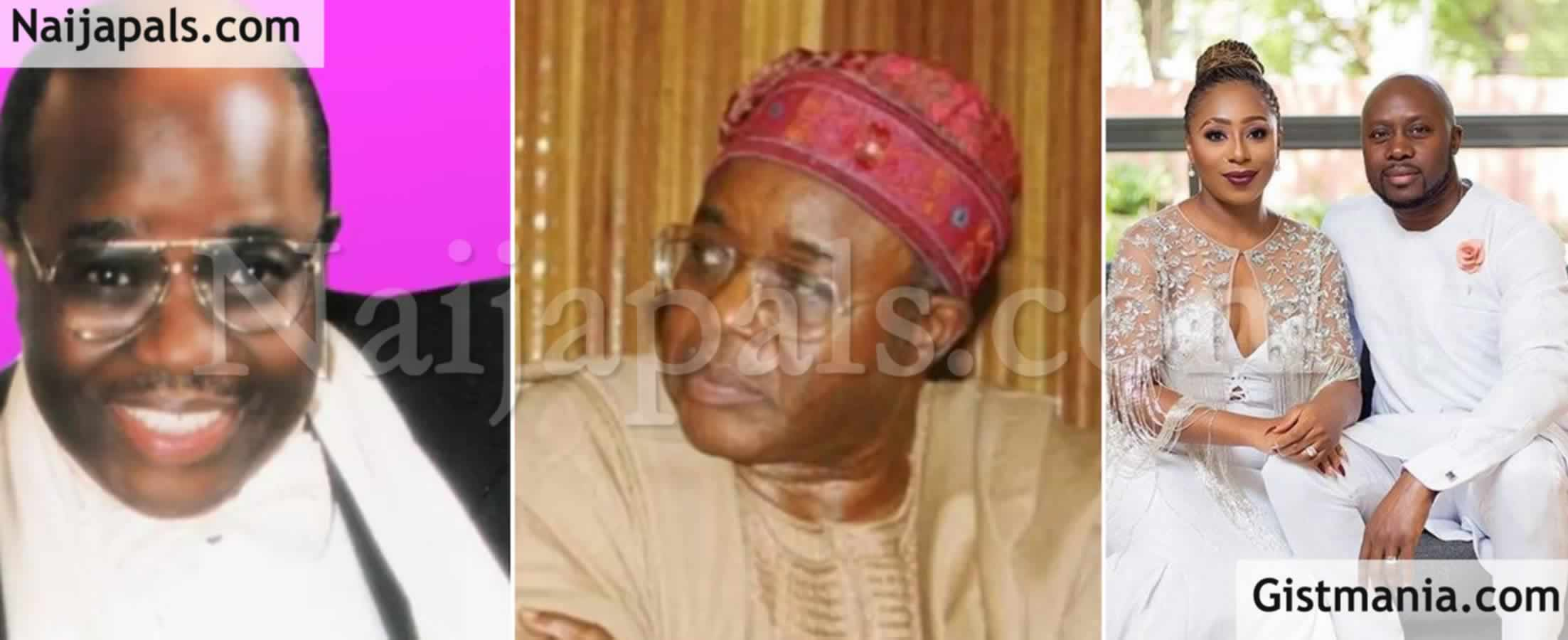 <img alt='.' class='lazyload' data-src='https://img.gistmania.com/emot/smh.gif' /> <b>Did COVID-19 Kill Chief Harry Akande? Dakore Egbuson's Father-In-Law</b>