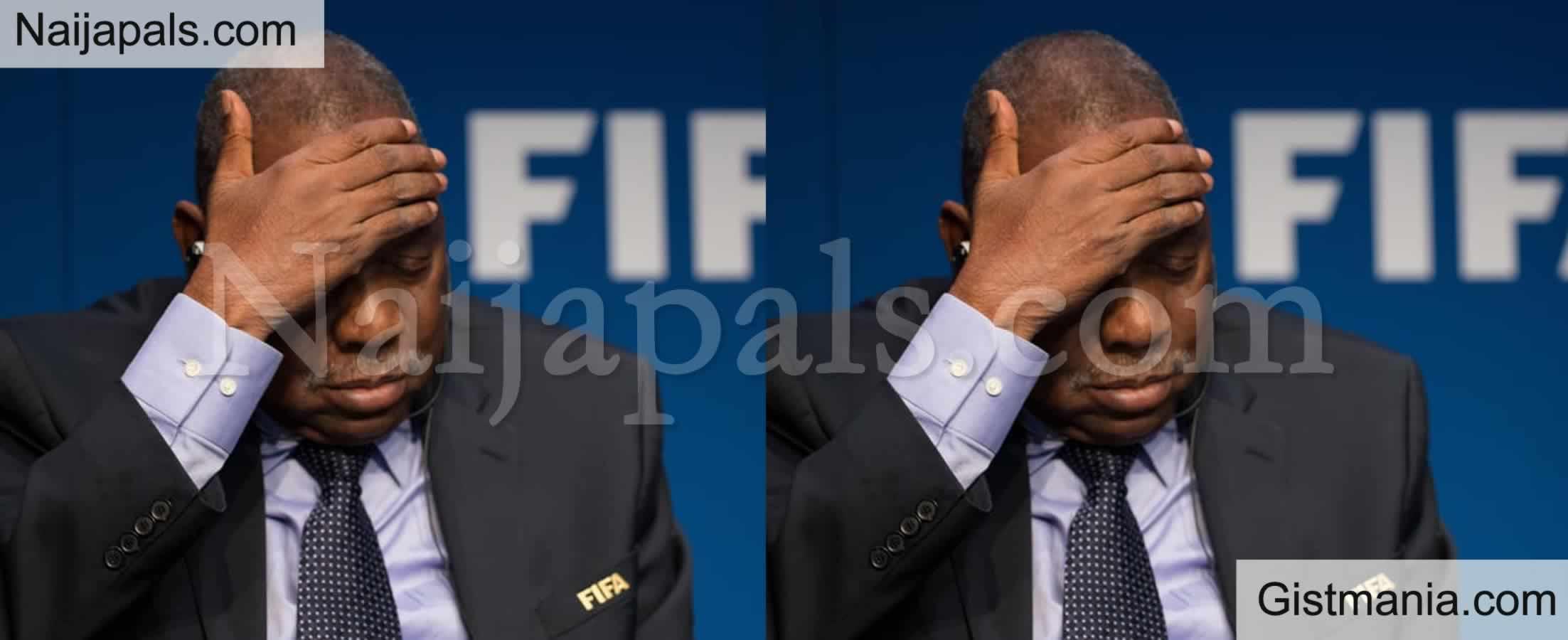 <img alt='.' class='lazyload' data-src='https://img.gistmania.com/emot/comment.gif' /> <b>Former CAF President Hayatou Slammed One Year Ban By FIFA</b>