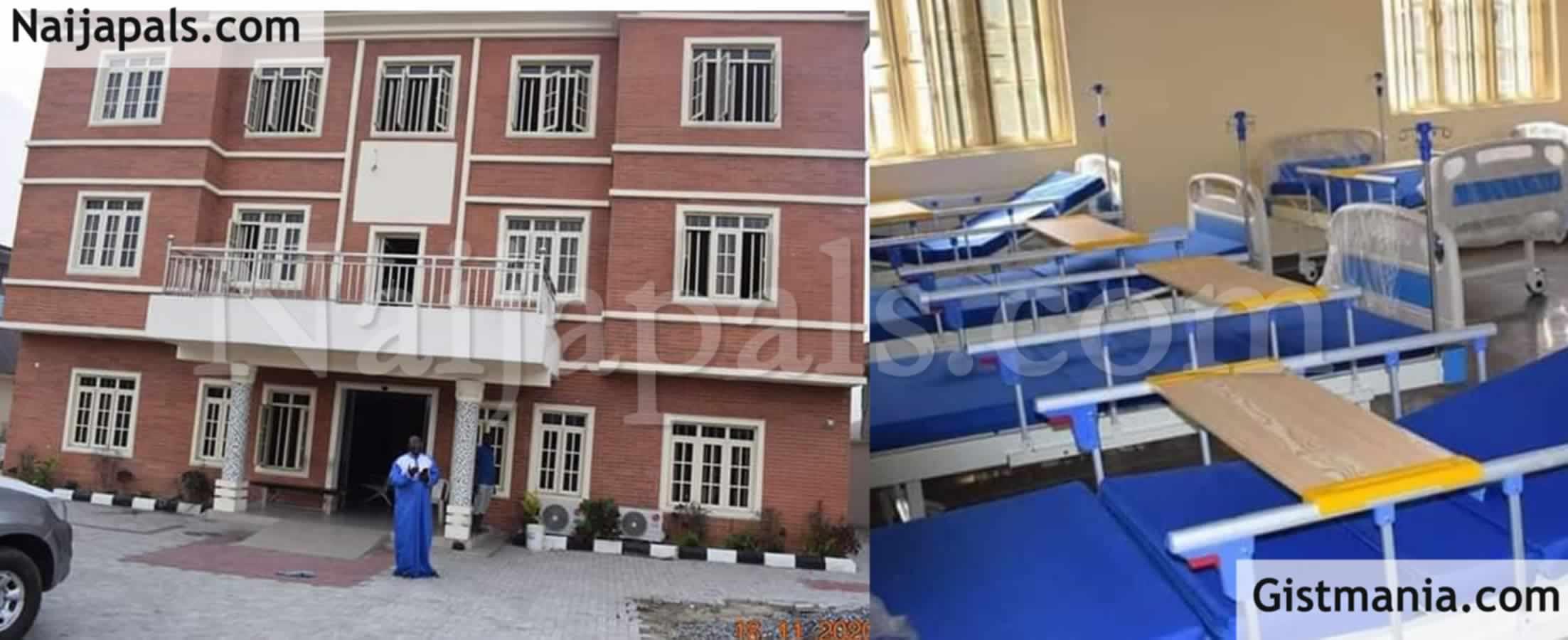 <img alt='.' class='lazyload' data-src='https://img.gistmania.com/emot/shocked.gif' /><img alt='.' class='lazyload' data-src='https://img.gistmania.com/emot/photo.png' /> <b>See Photos Of Massive Health Centre Built On Dump Site By A Lagos State LG Chairman, AJIFAT</b>