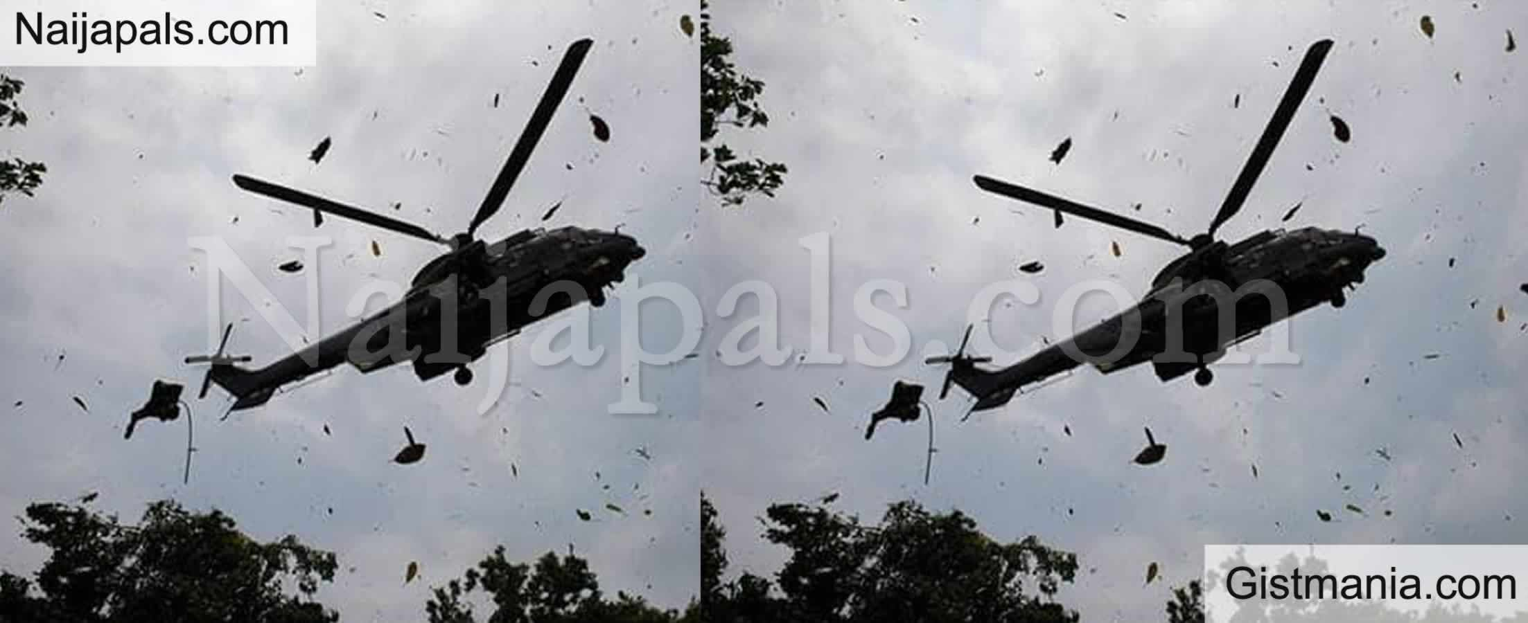 <img alt='.' class='lazyload' data-src='https://img.gistmania.com/emot/news.gif' /><b> Residents Vow Army Green Helicopter Dropped Off Bandits That Killed Ten Katsina Community</b>