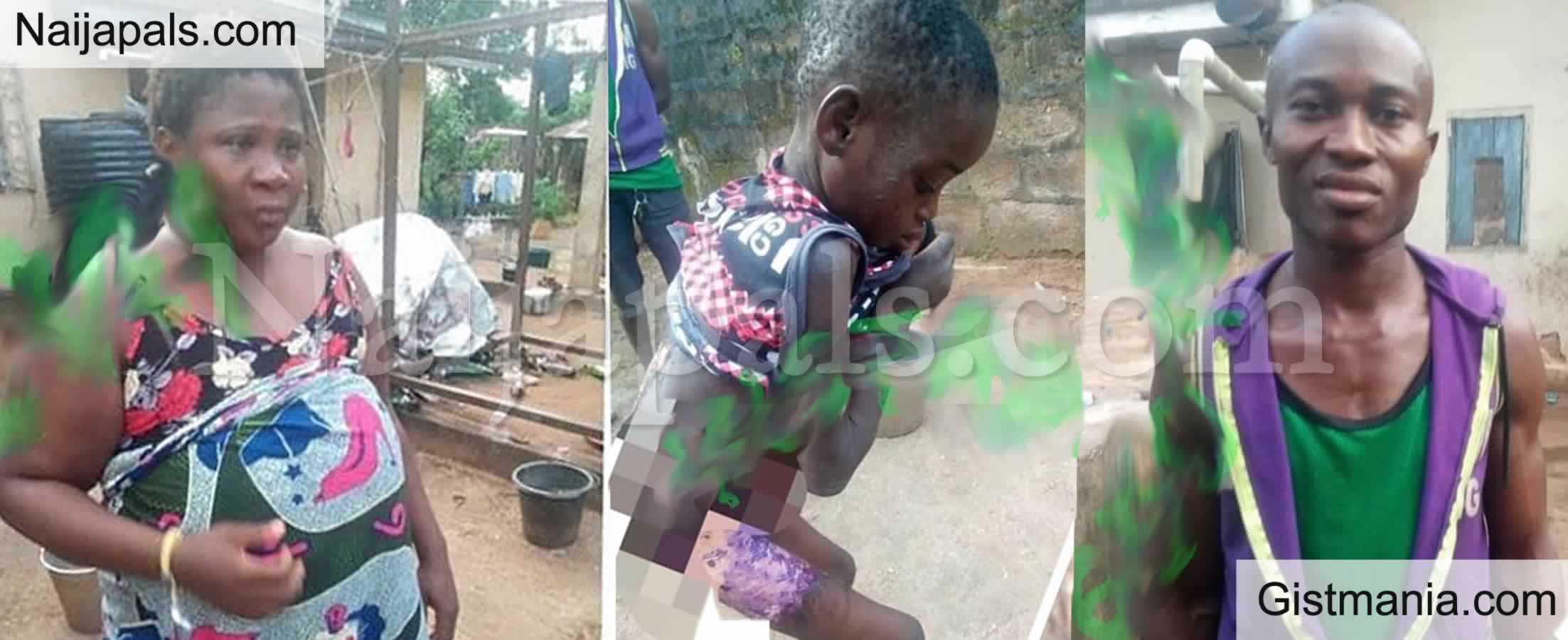 <img alt='.' class='lazyload' data-src='https://img.gistmania.com/emot/smh.gif' /> <b>Hell Couple Dragged Out For Maltreating Their 8 Year Old Housemaid in Anambra</b> (VIDEO)