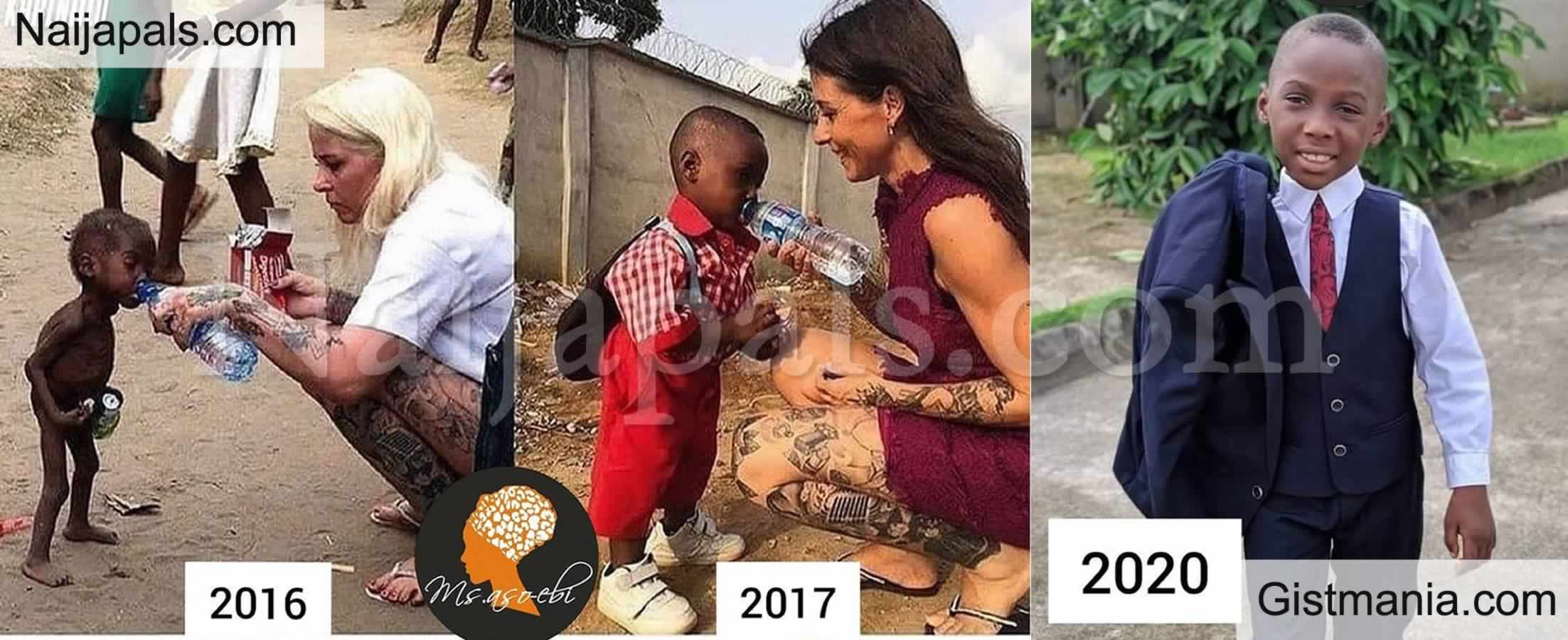 <img alt='.' class='lazyload' data-src='https://img.gistmania.com/emot/photo.png' /> Photos: <b>Check Out Amazing Transformation Of Boy Left Wandering Alone On The Street For Eight Months</b>