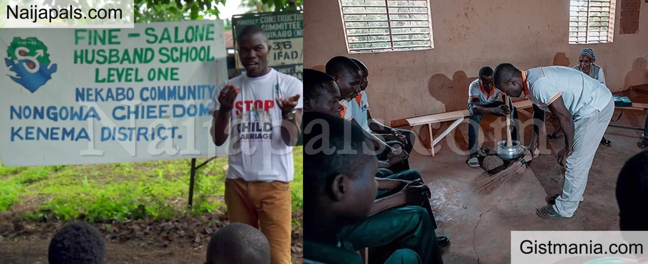 "<img alt='.' class='lazyload' data-src='https://img.gistmania.com/emot/rose.gif' /> <b>Men Attend ""Husband's School"" In Burkina Faso To Learn How To Become Better Husbands</b>"