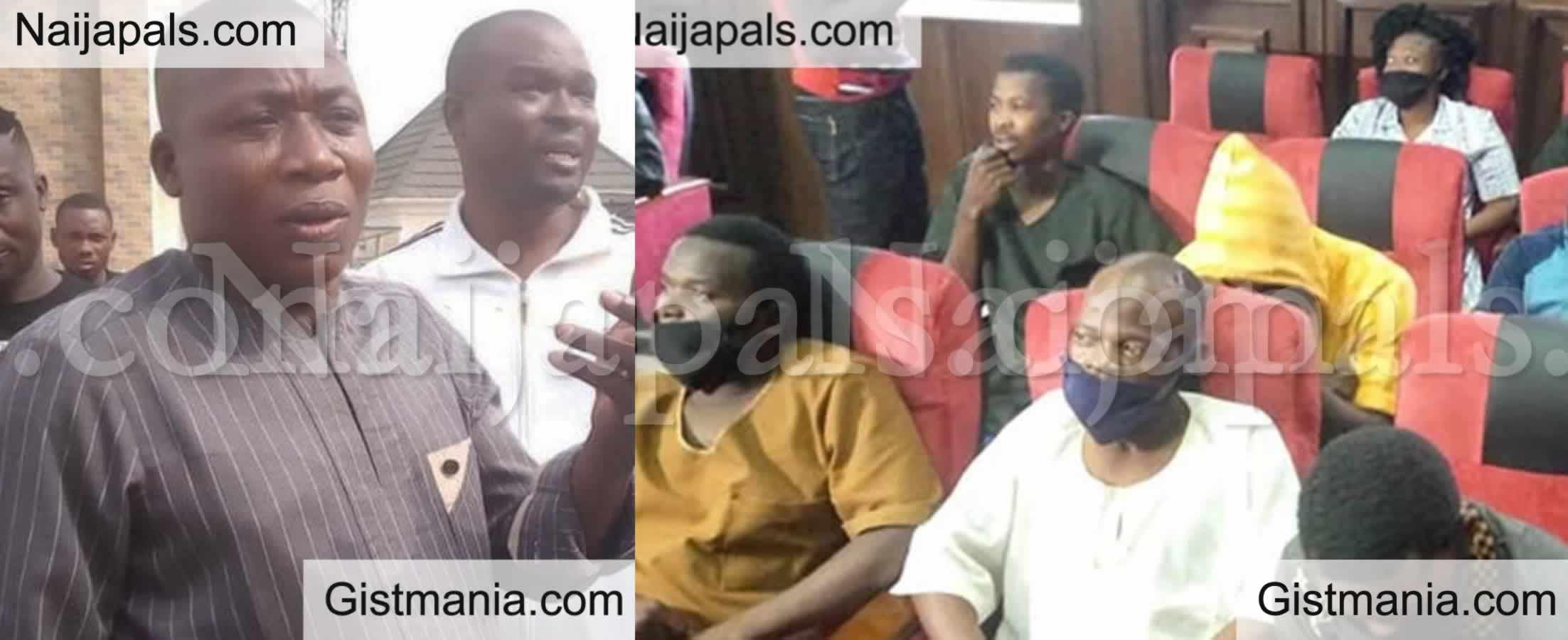 <img alt='.' class='lazyload' data-src='https://img.gistmania.com/emot/news.gif' /> BREAKING NEWS! DSS Raid: <b>Sunday Igboho Wins Against FG As Court Orders FG To Pay Him ₦20b</b>